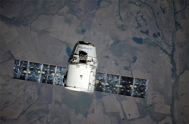 SpaceX cargo ship captured by space station