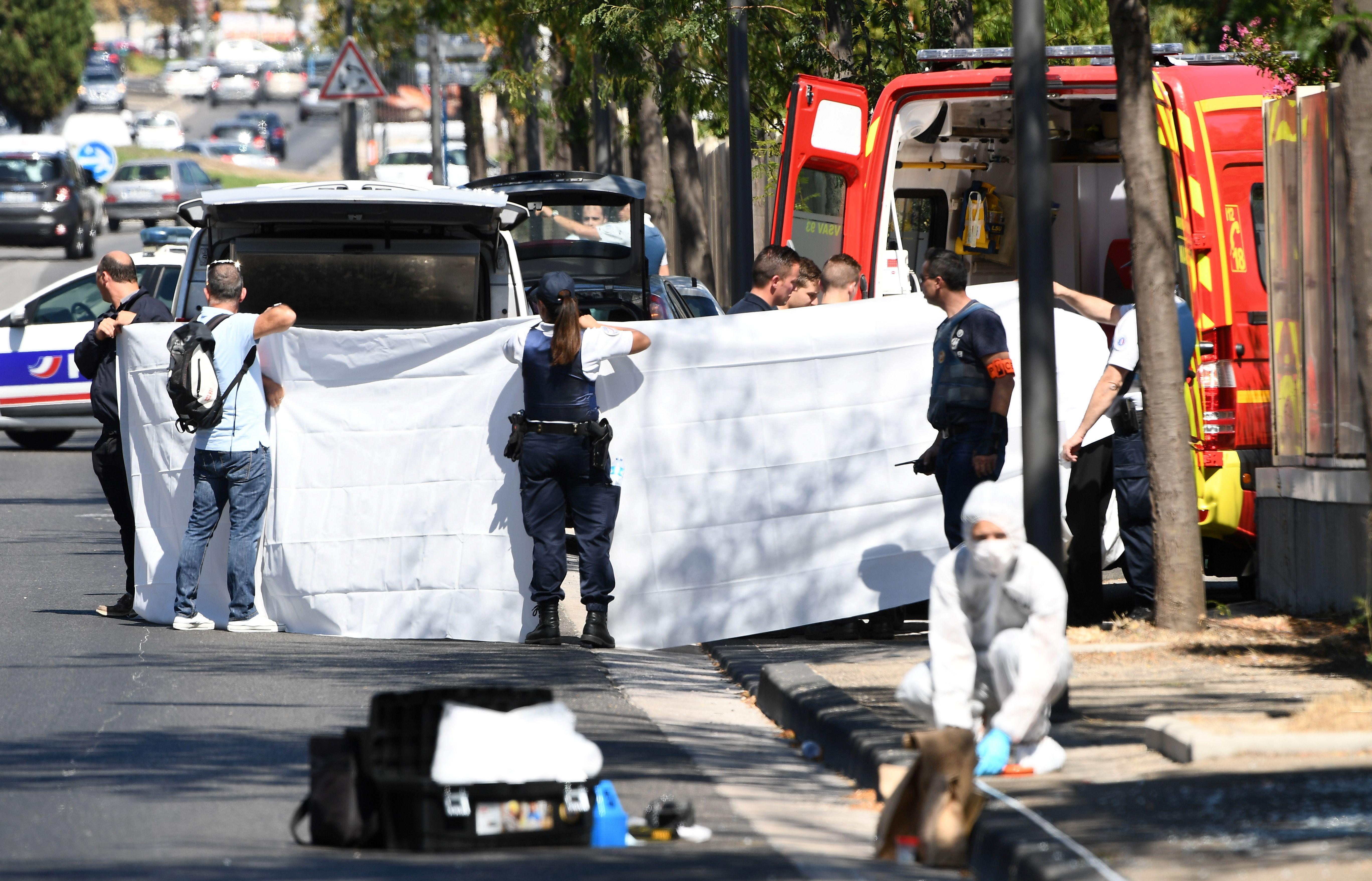 marseille france car crashes into bus shelters reportedly killing one person driver arrested. Black Bedroom Furniture Sets. Home Design Ideas