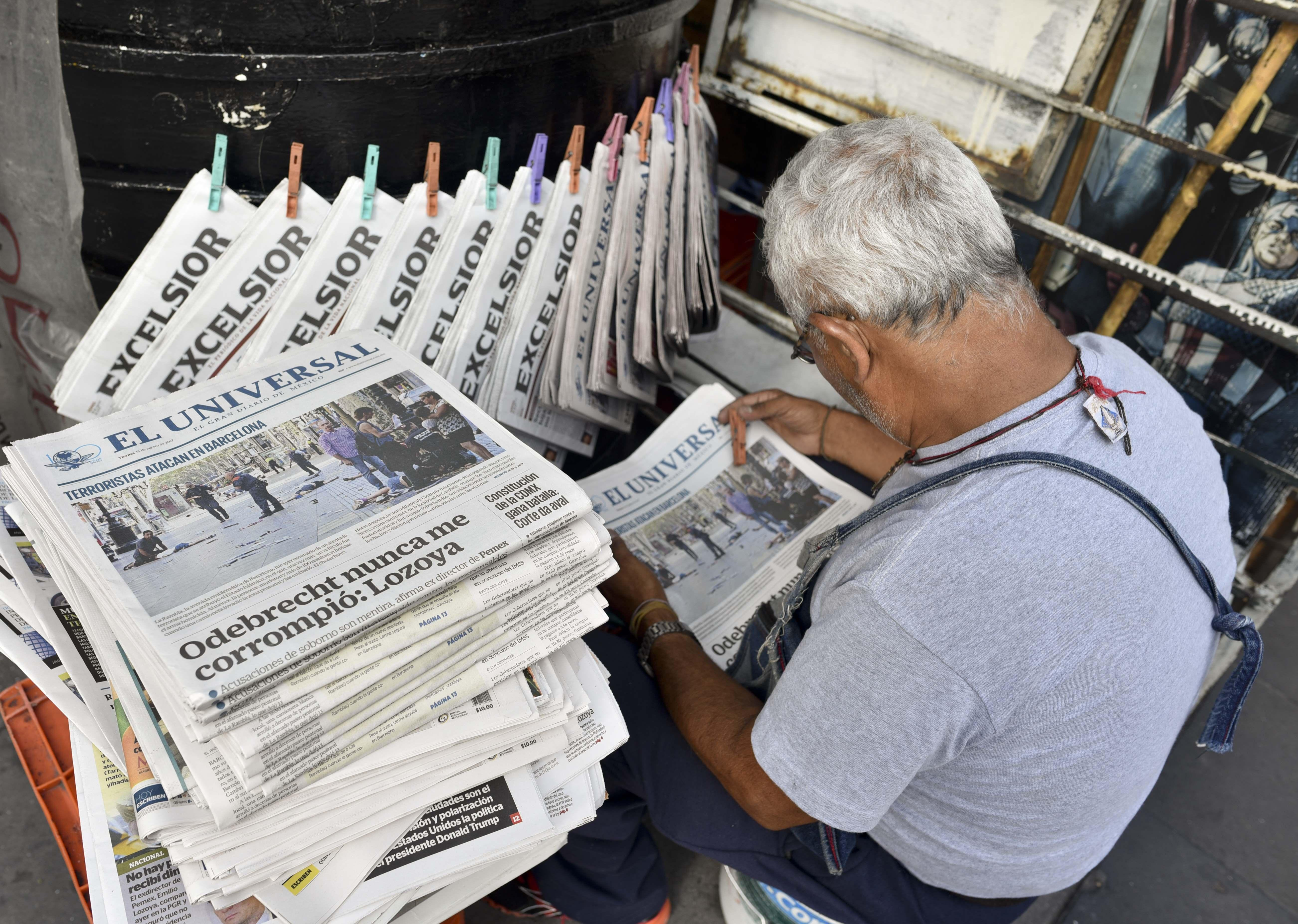 Reporter killed in Mexico was at least 9th journalist slain this year