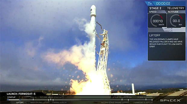 SpaceX chalks up another rapid-fire Falcon 9 launch - CBS News