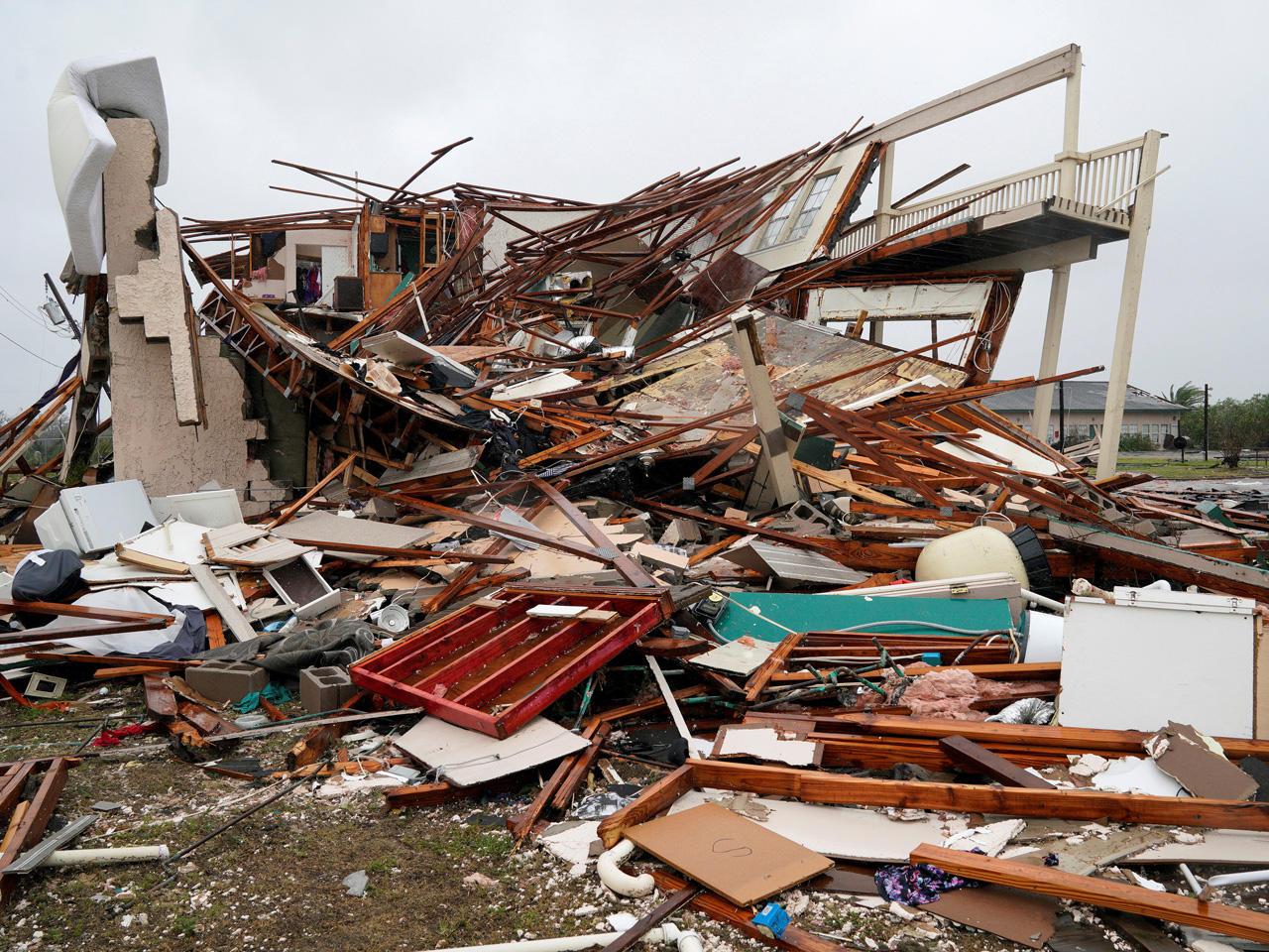 Aransas Pass Hurricane Harvey Pictures Cbs News