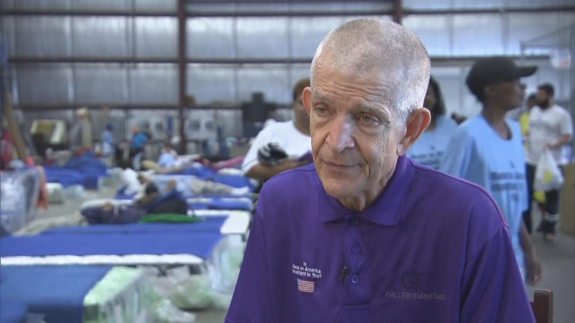 Mattress Mack Houston Furniture Store Owner Offers Refuge