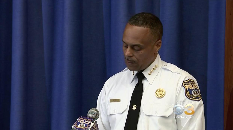 Commissioner: Philadelphia officer who shot man in the back