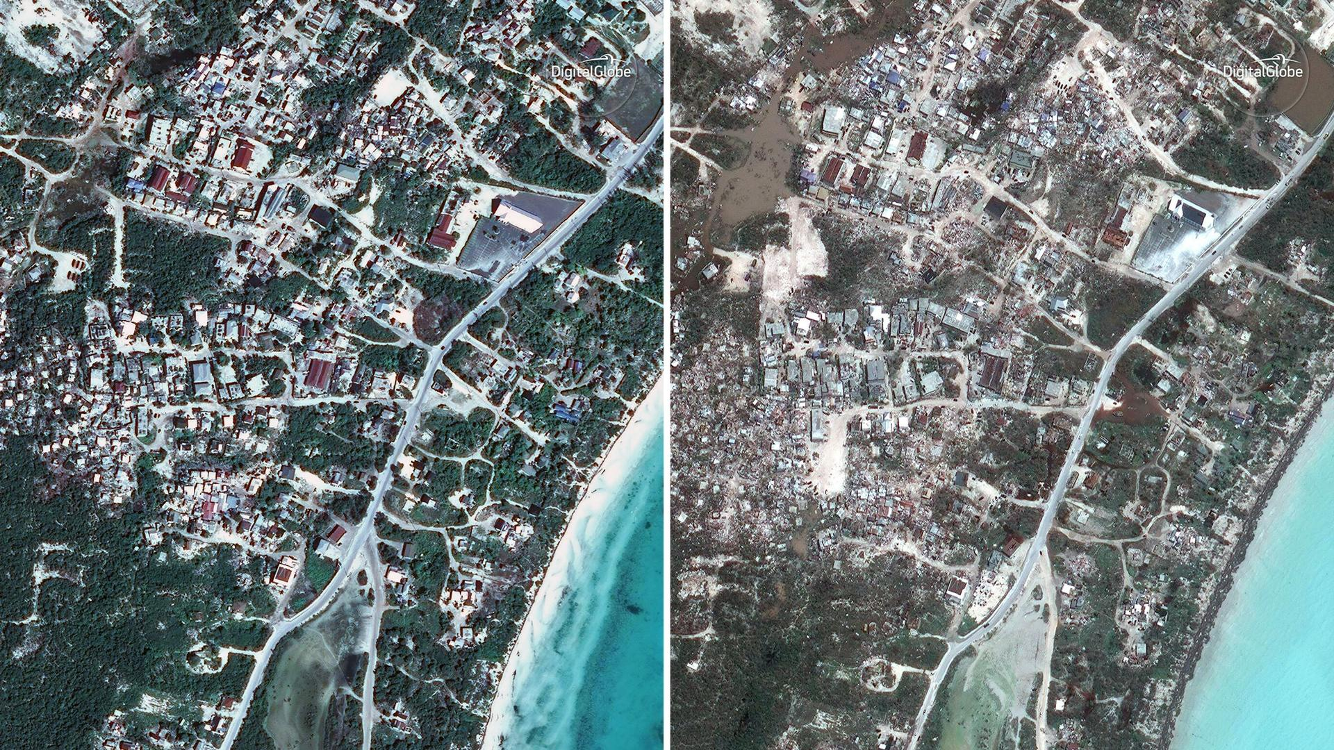 Virgin Gorda Before Amp After Satellite Photos Of