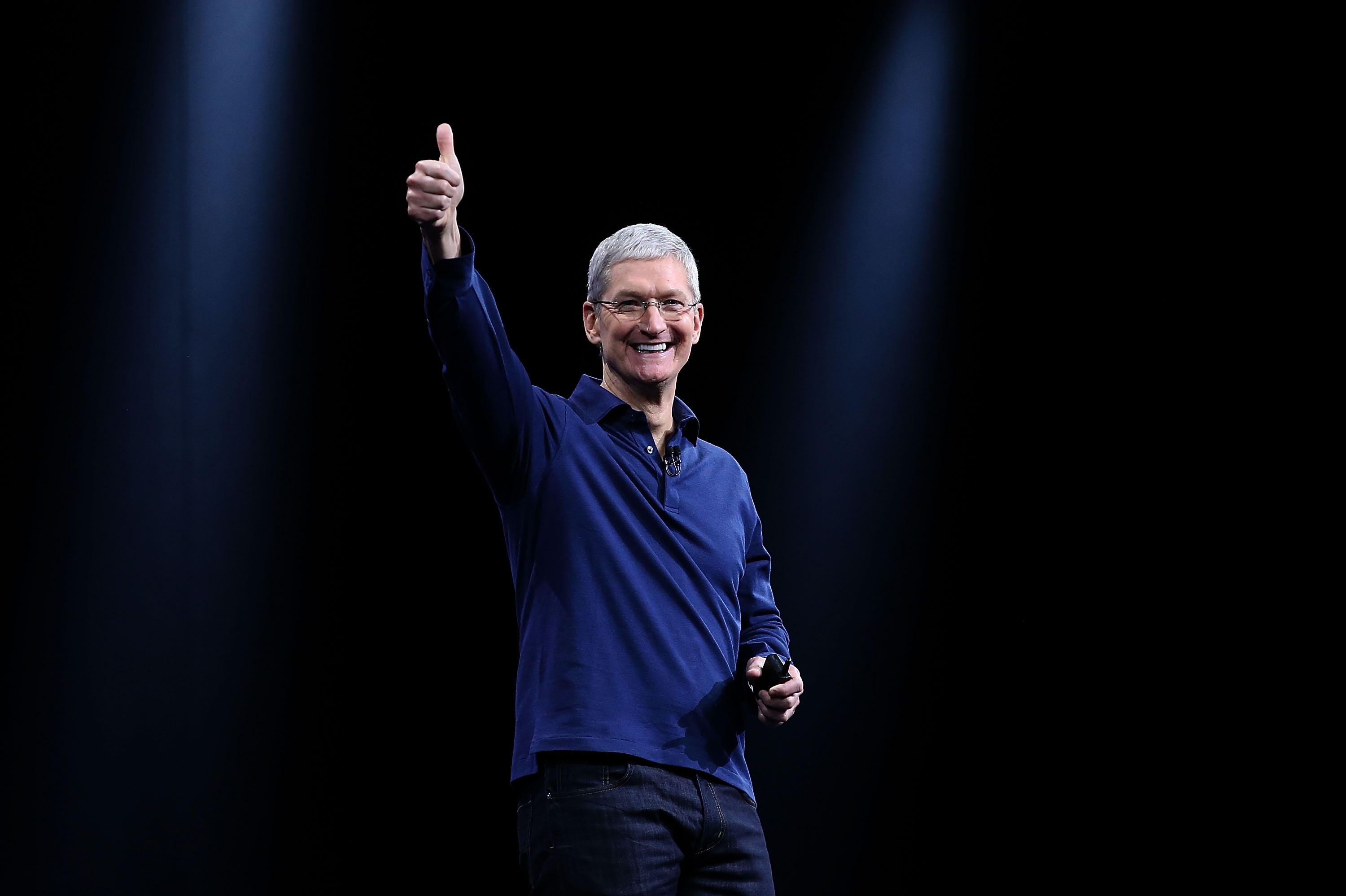 Thrilled by the response apple ceo tim cook said in a tweet that it - Apple Event As It Happened New Iphone 8 Iphone X Apple Watch Apple Tv 4k Announced Cbs News