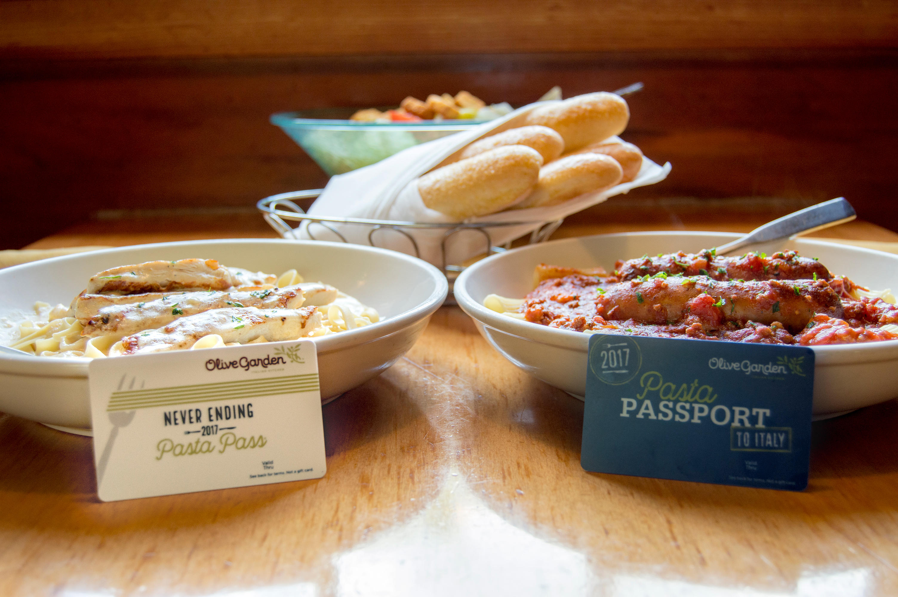olive garden revives the pasta pass after 1 second sellout cbs