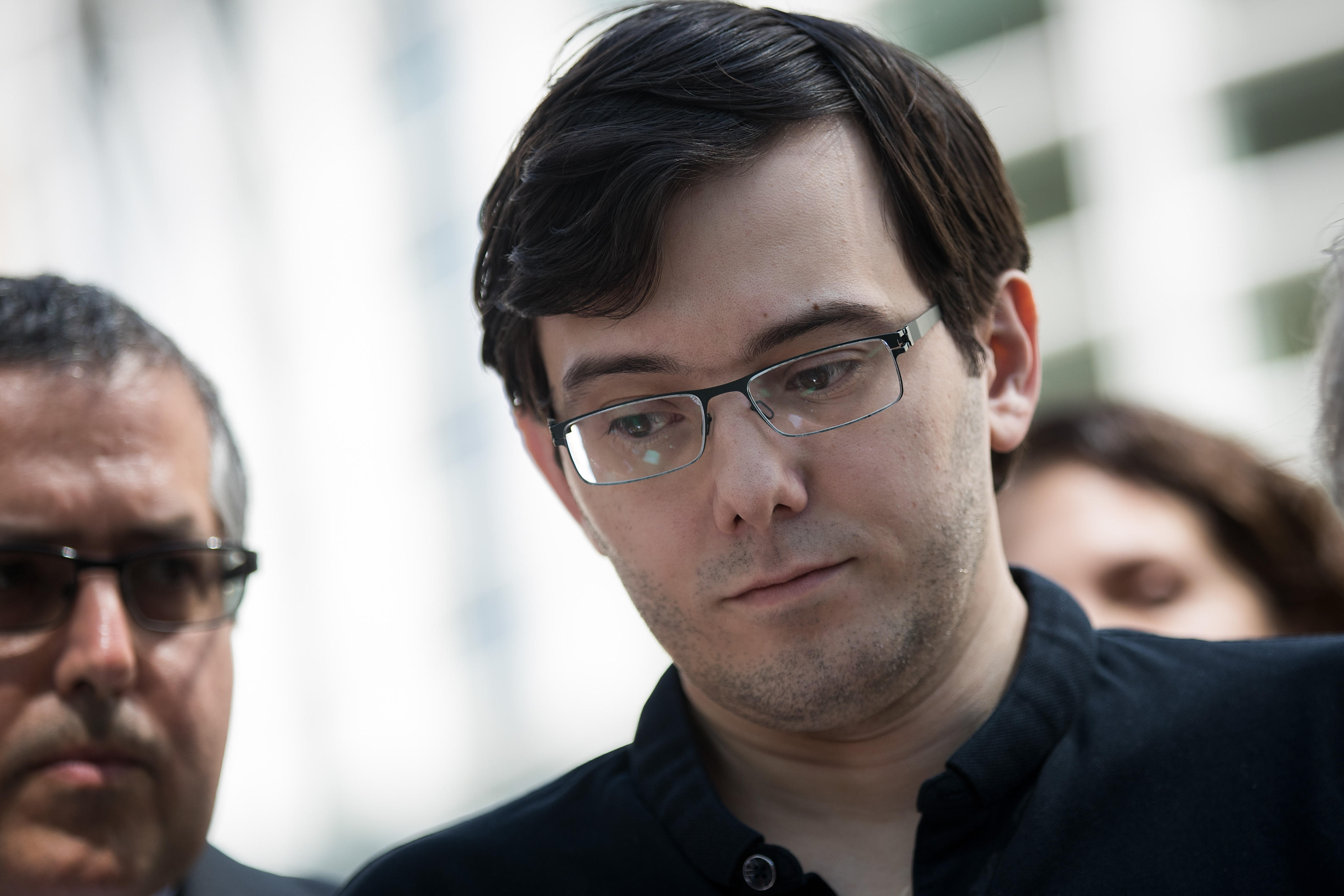 0465e481df6 NEW YORK -- Former pharmaceuticals company CEO Martin Shkreli has had his  bail revoked and is going to jail in New York while he awaits sentencing  for a ...