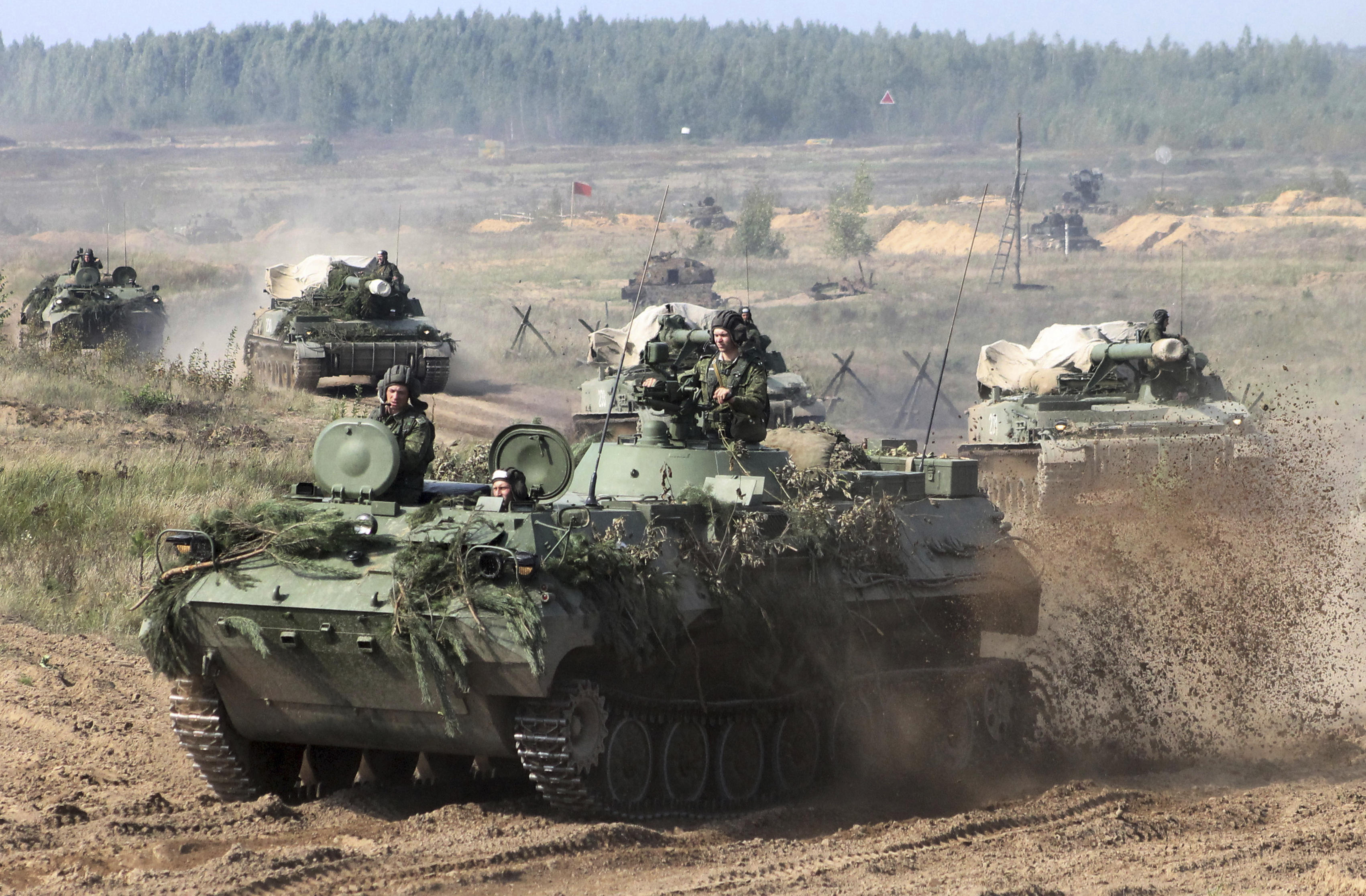 Russia Zapad 2017 Military Exercise With Belarus Kicks Off As Nato