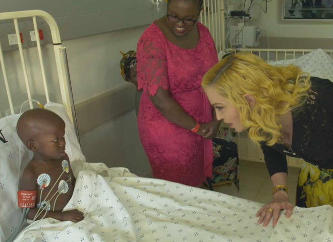 Madonna's song of hope for Malawi's children