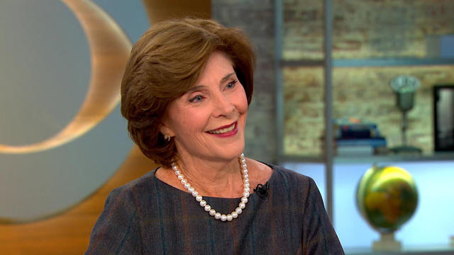 Former First Lady Laura Bush Offers Advice For Her
