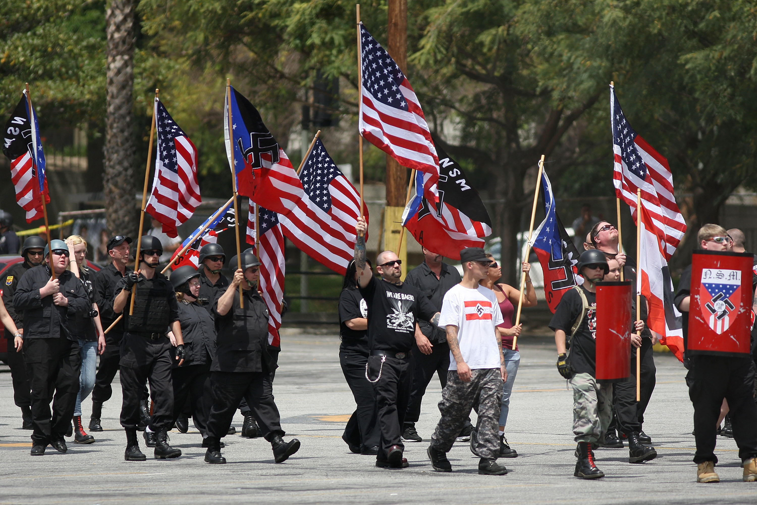 neo nazis in america Non-aryan sympathizer page  the american nazi party has now decided to offer a means for non-whites to aid in our struggle if you are interested, please fill out .