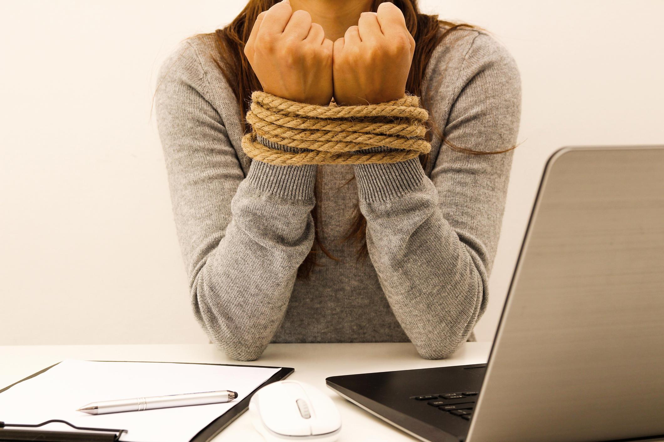 hands tied pics Bondage
