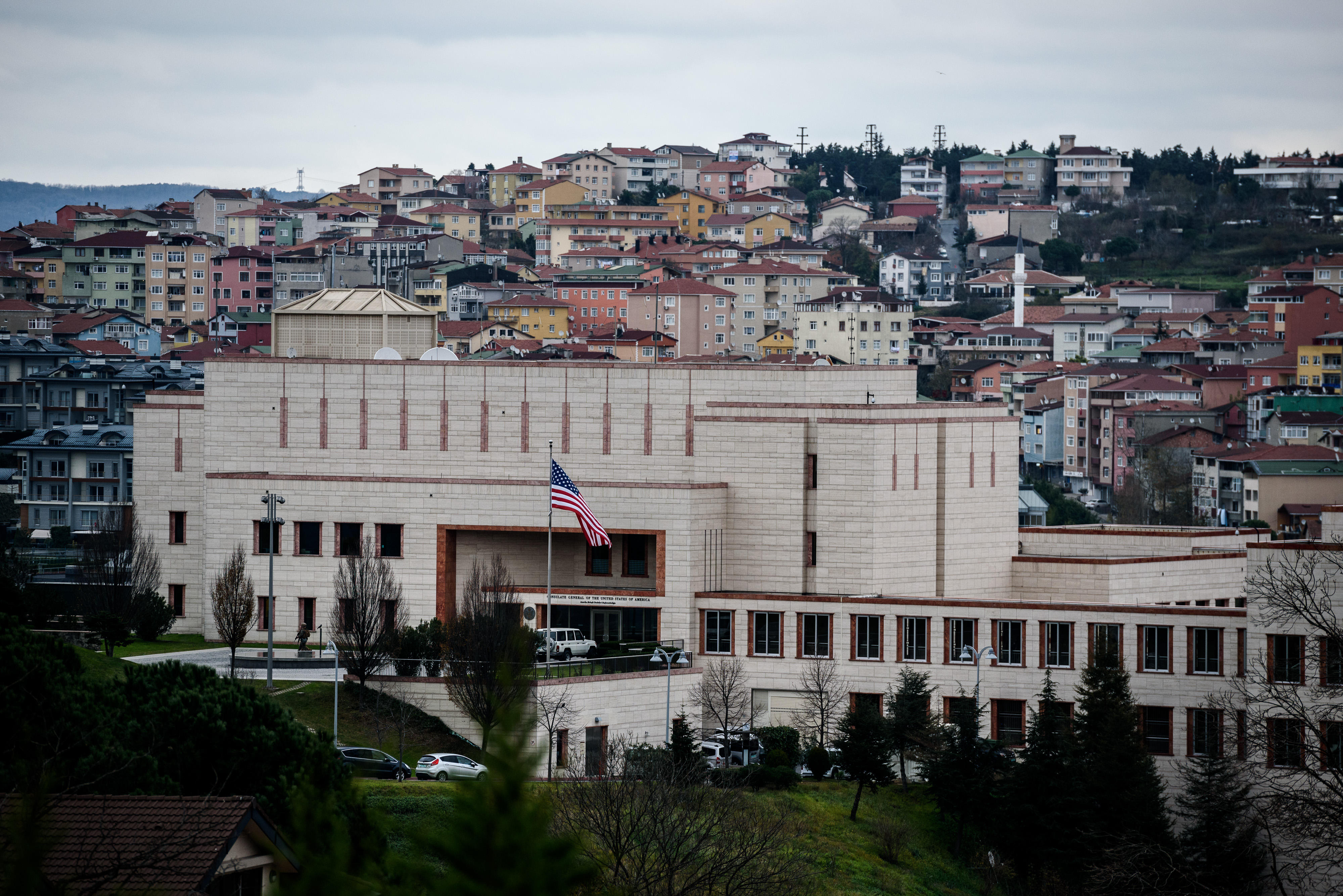 C A Turkey Istanbul Turkey arrests US Cons...