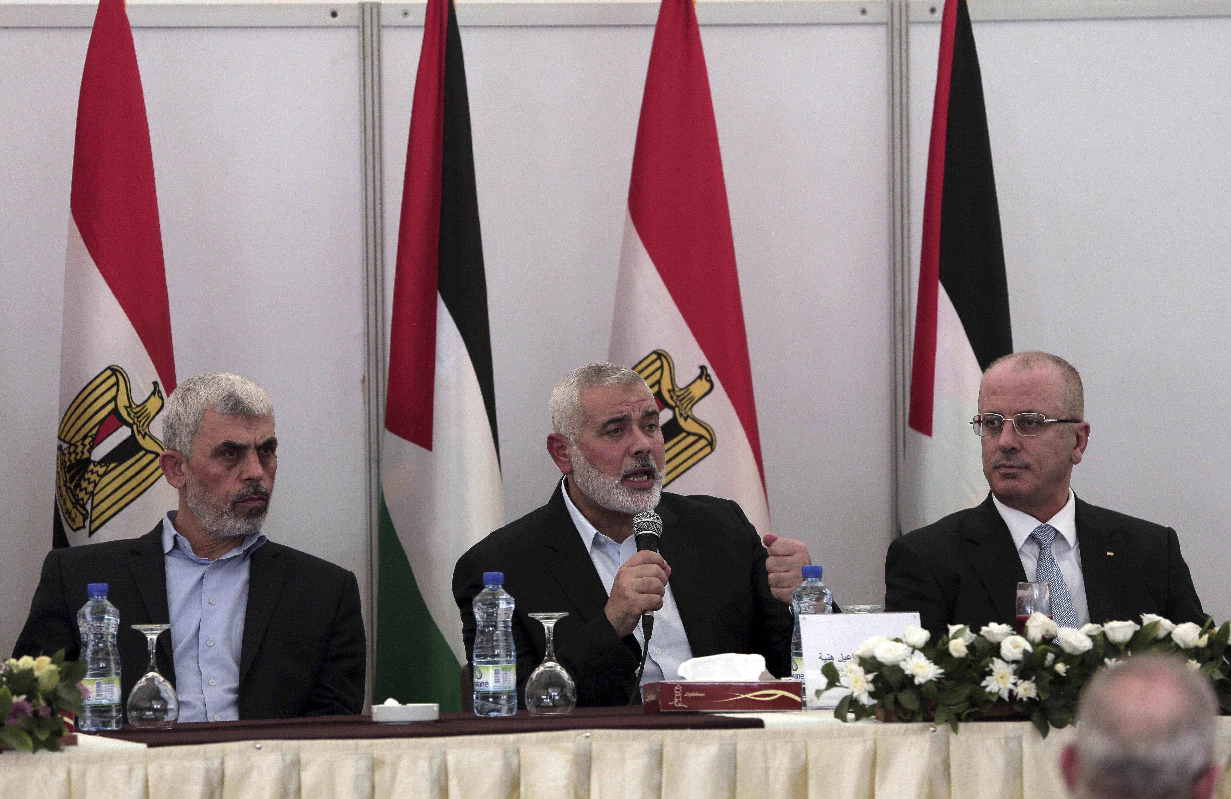 Rival Palestinian factions reach deal on Gaza Strip