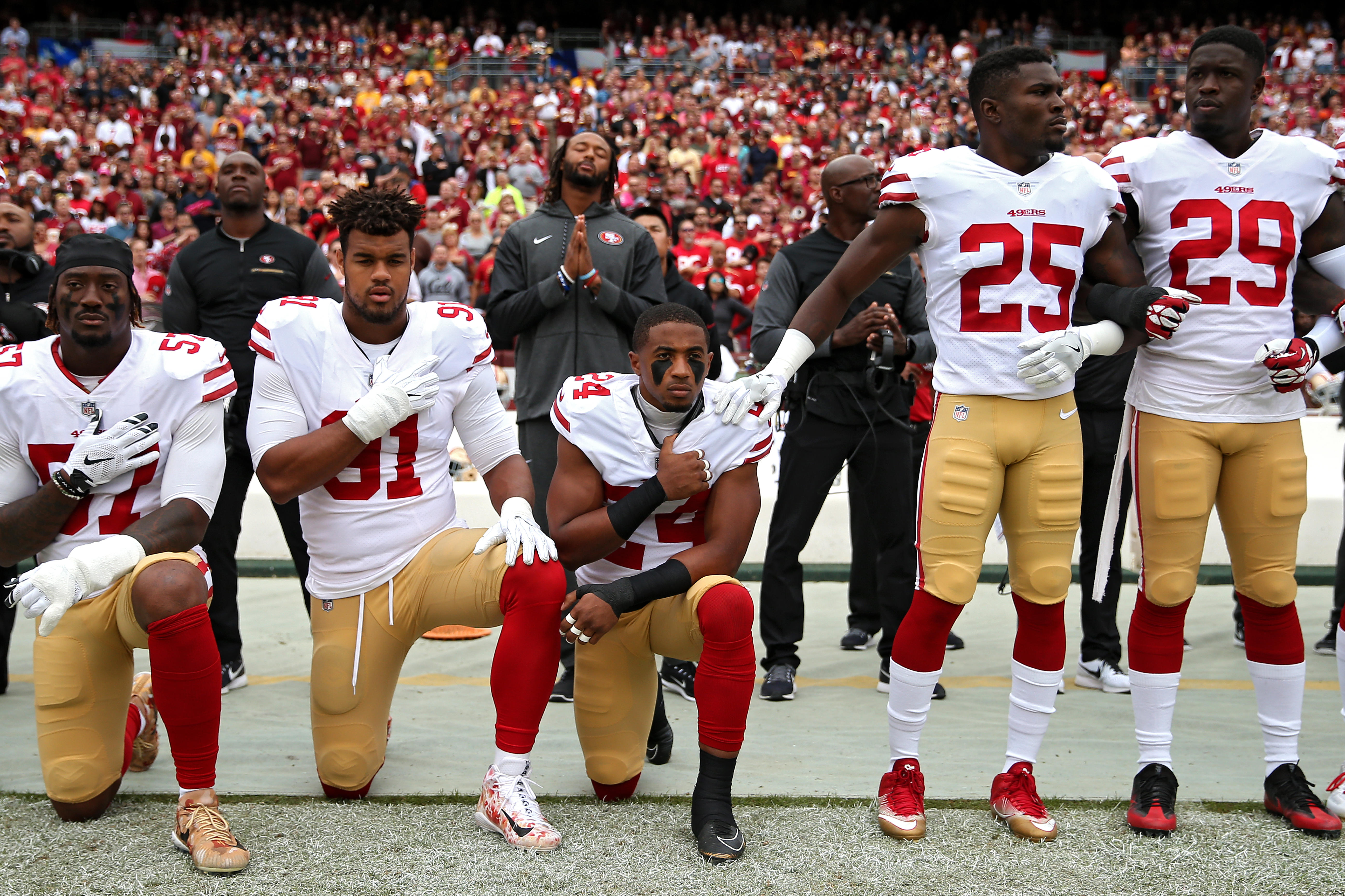 Protest News: NFL Players Continue National Anthem Protests