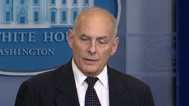 White House Chief Of Staff John Kelly Scolds .