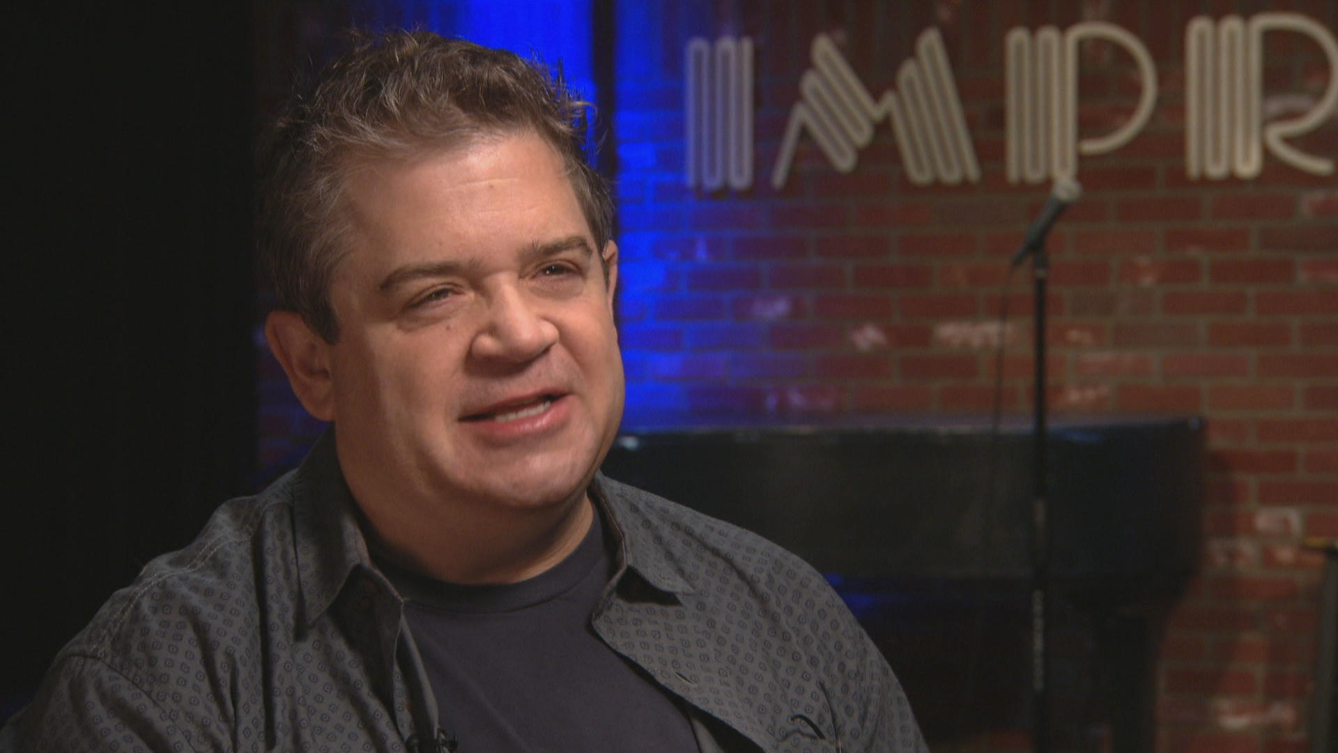 Comedian Patton Oswalt on loss, new love and finding the funny -- even in despair