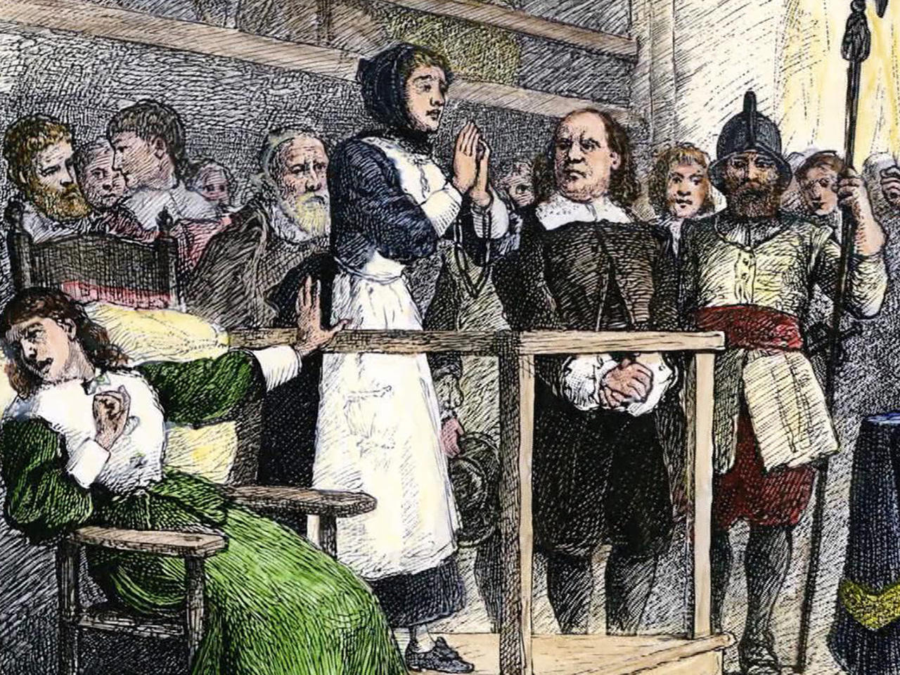 salem witch trials and civil rights Witchcraft and the law: the shape of the devil: the salem witch trials of 1692  influence of the trials on civil procedure.