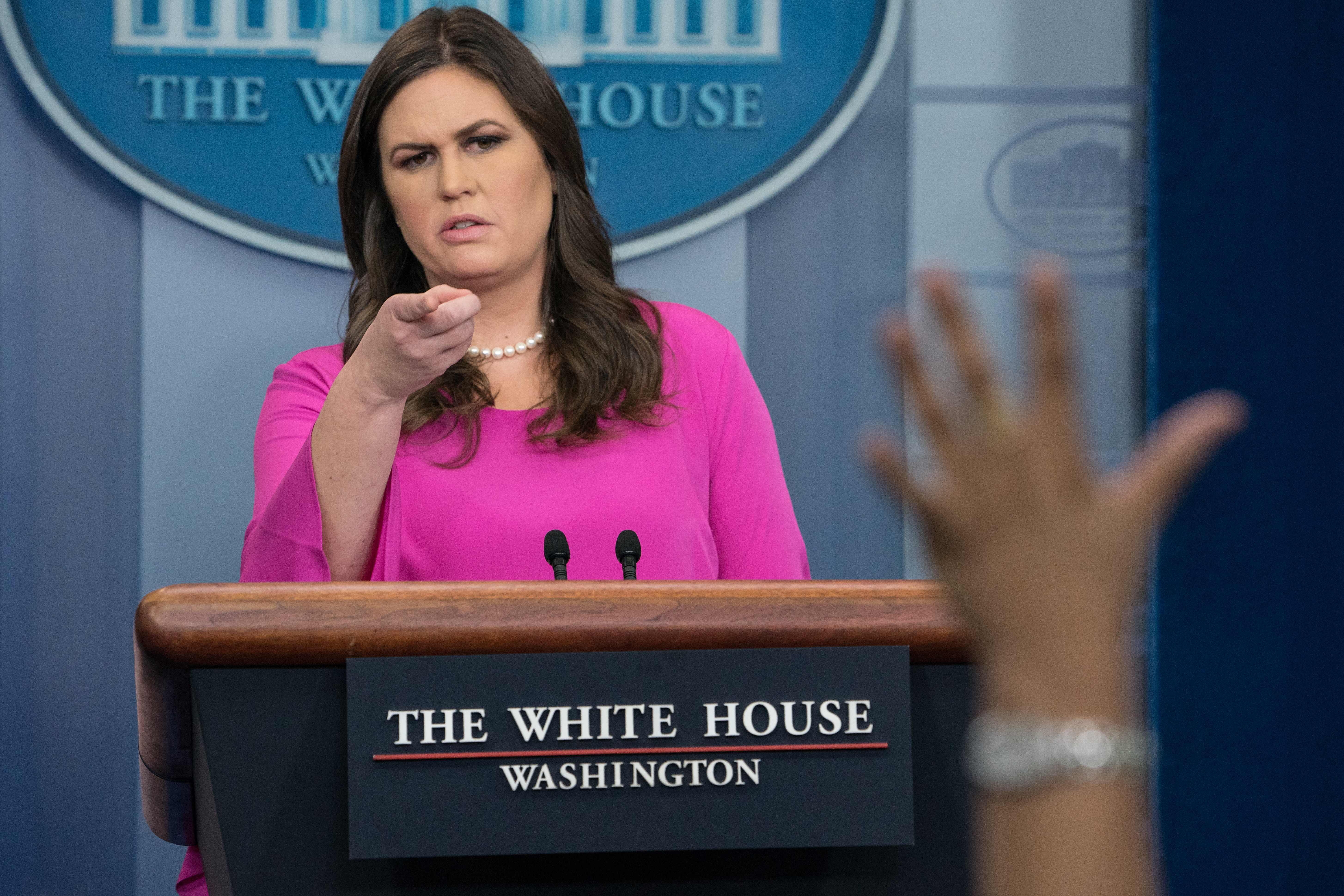 5d5663b946ed Watch: White House press briefing live stream after Paul Manafort, Rick  Gates FBI indictments - CBS News