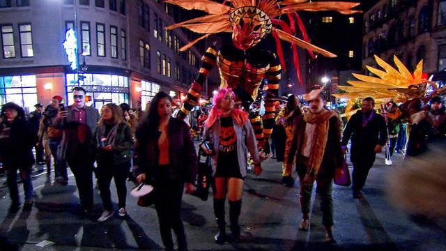 New York City Halloween parade marches on despite deadly terror ...