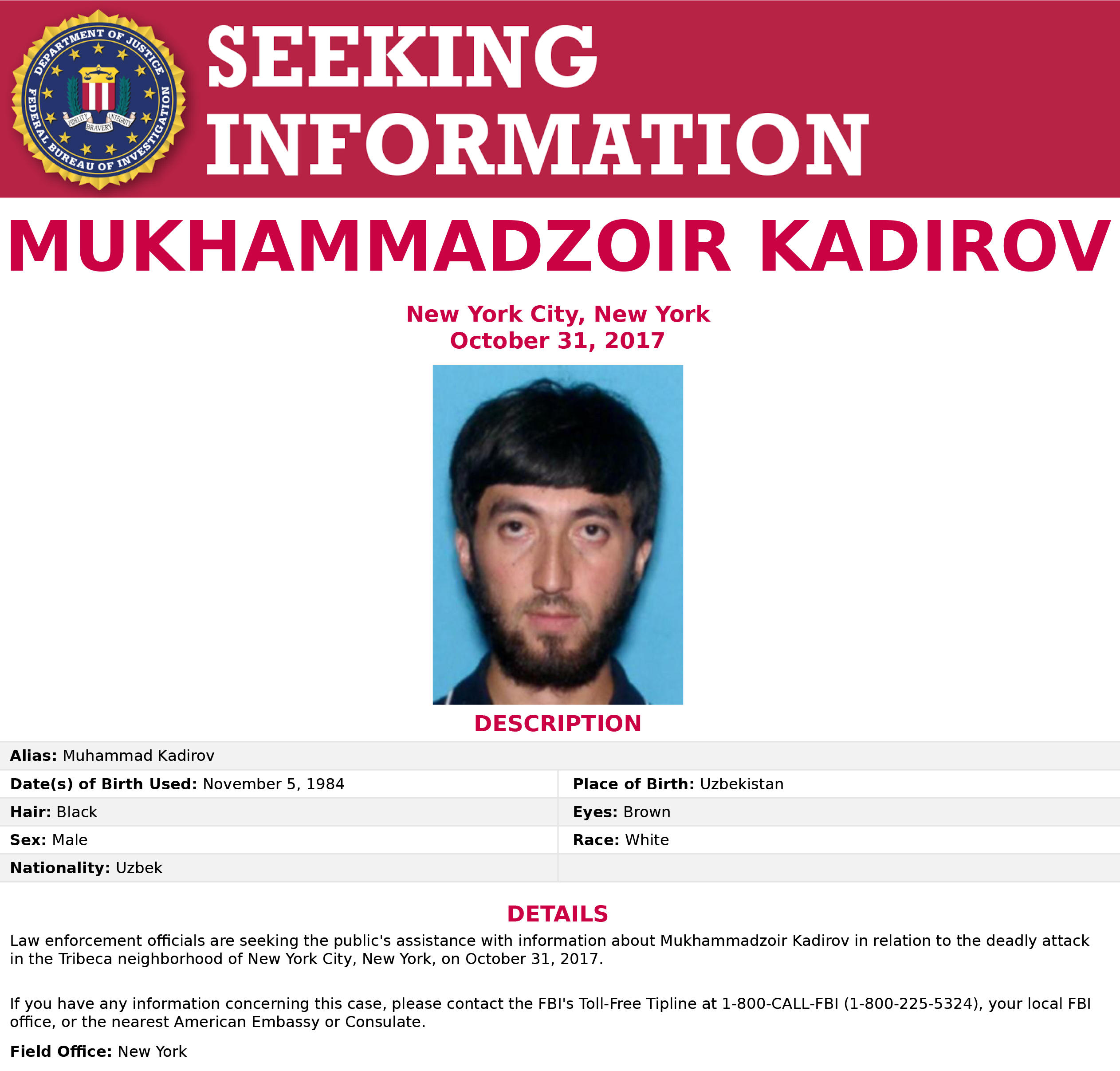 New York terror attack: Man FBI was seeking speaks out - CBS News