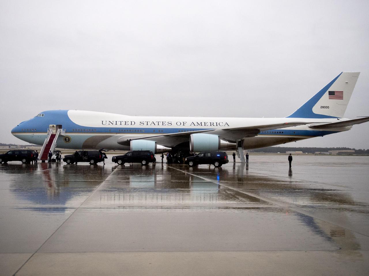 pas cher pour réduction 86ff4 64e63 Trump reveals details of planned Air Force One makeover ...