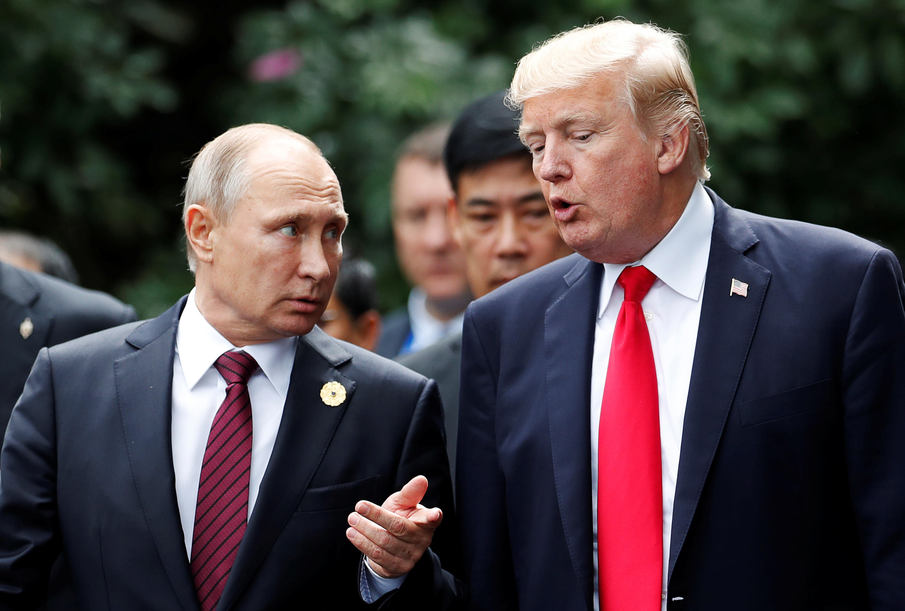 Trump spoke to Putin about Syria, North Korea, other hot spots