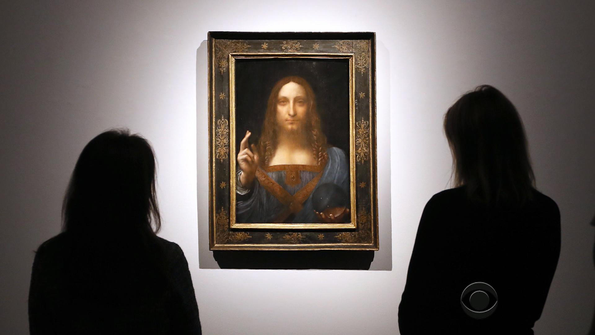 leonardo da vinci painting salvator mundi sells for  450m