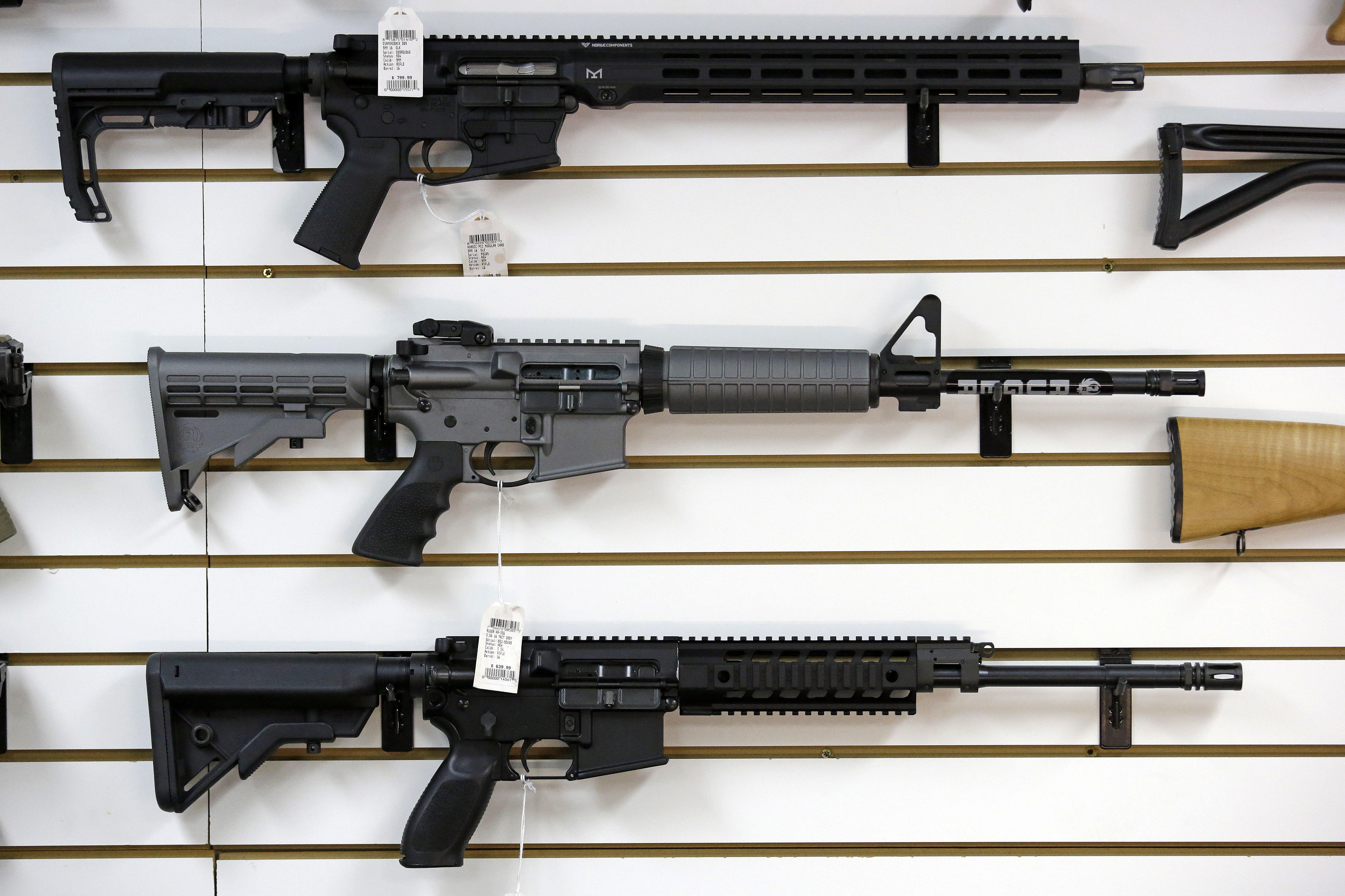 Marketing tactics for AR rifles under new scrutiny after mass shootings