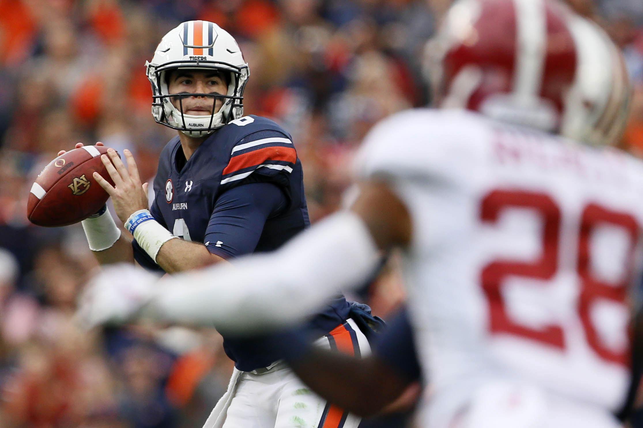 Auburn Alabama Football Game Gives Top Ranked Crimson Tide First