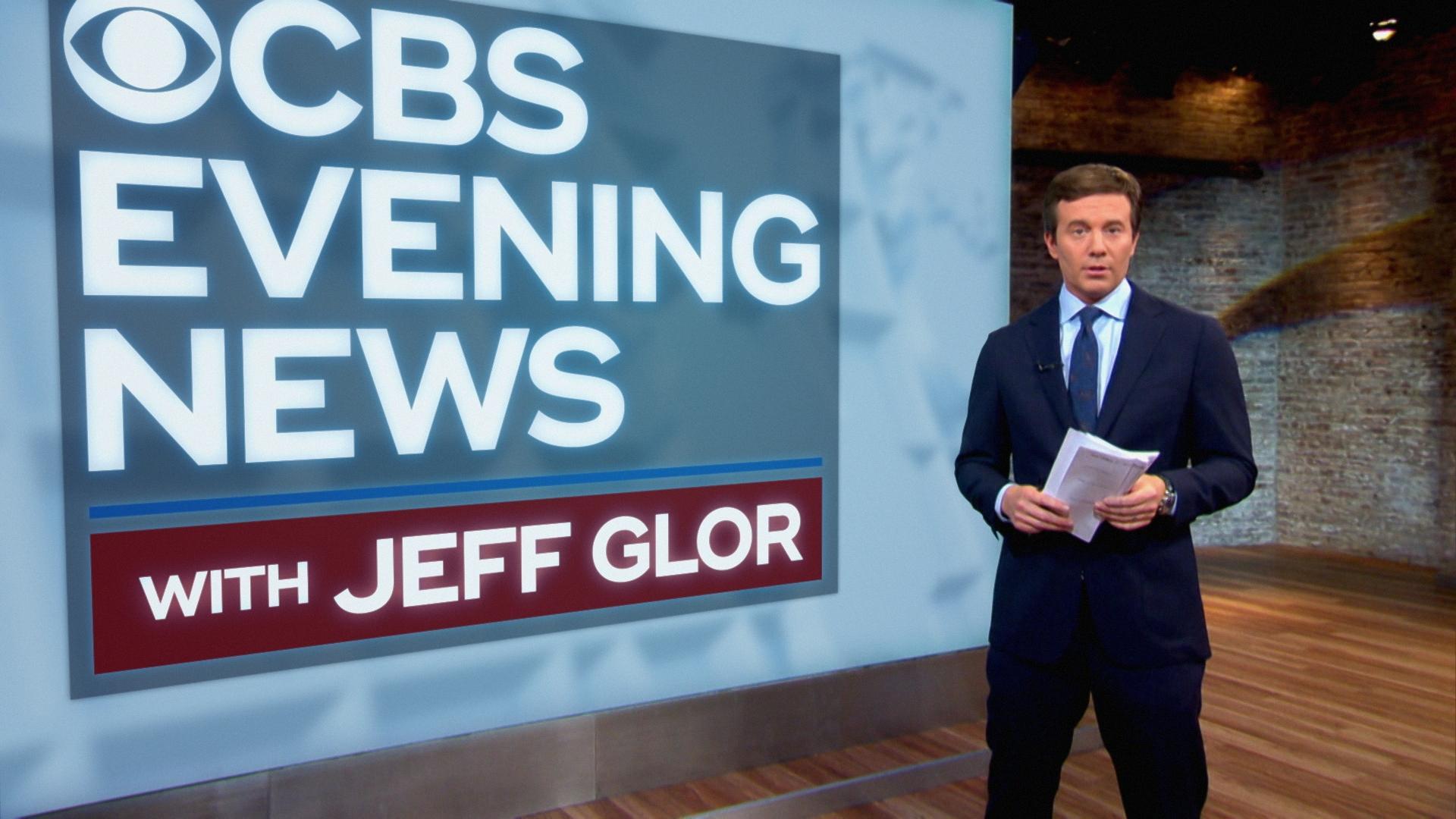 """News News: """"CBS Evening News With Jeff Glor"""" Begins December 4"""