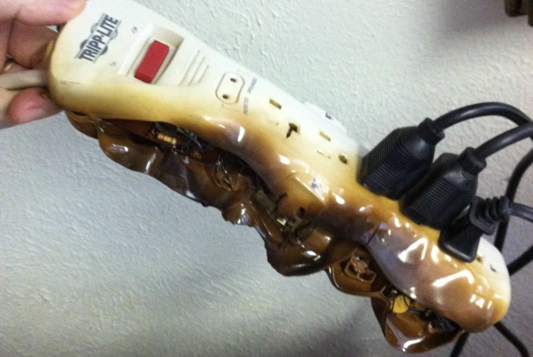 Do not plug space heaters into power strips, fire officials