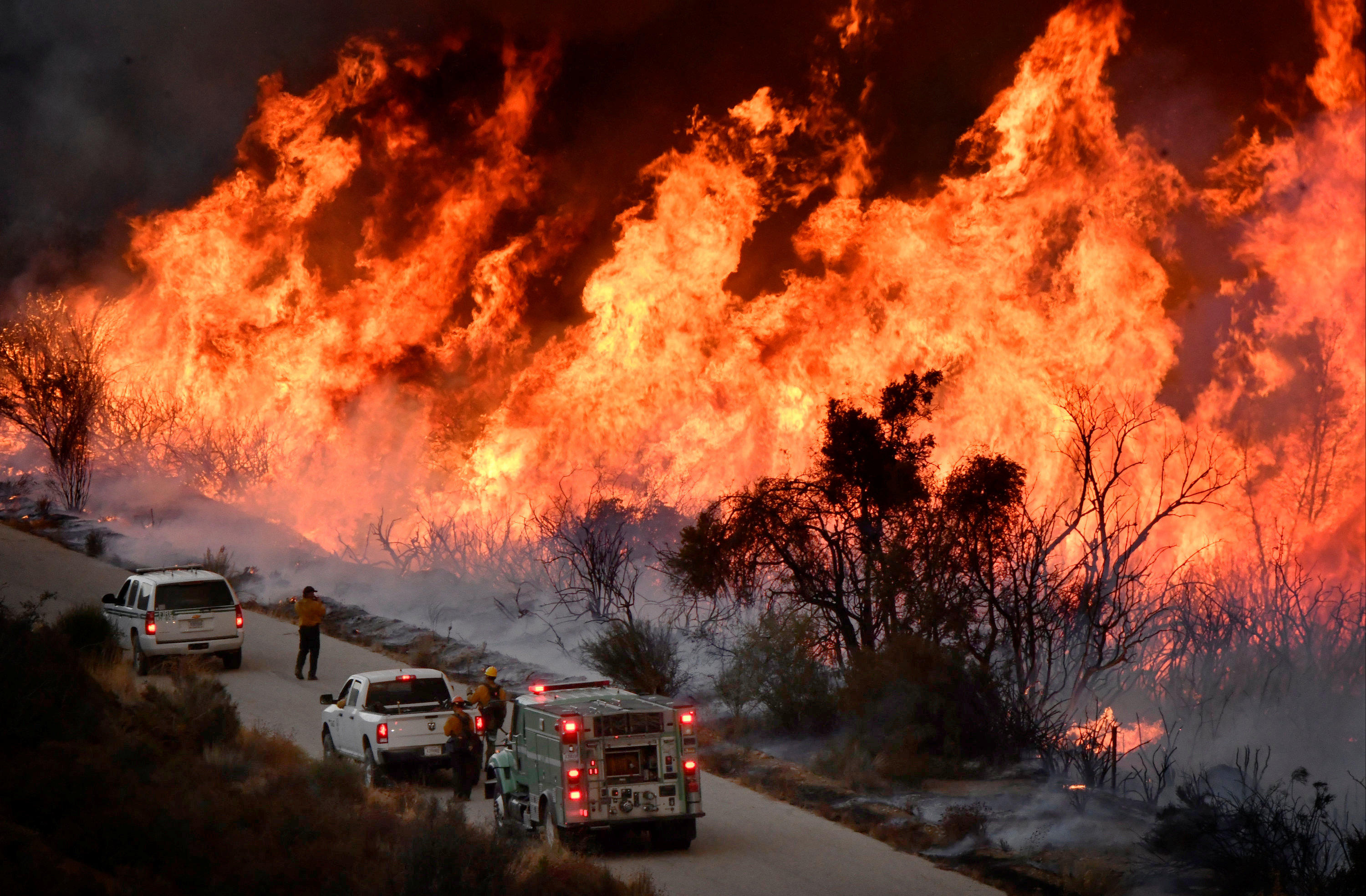 Raging California fire triggers new evacuation orders