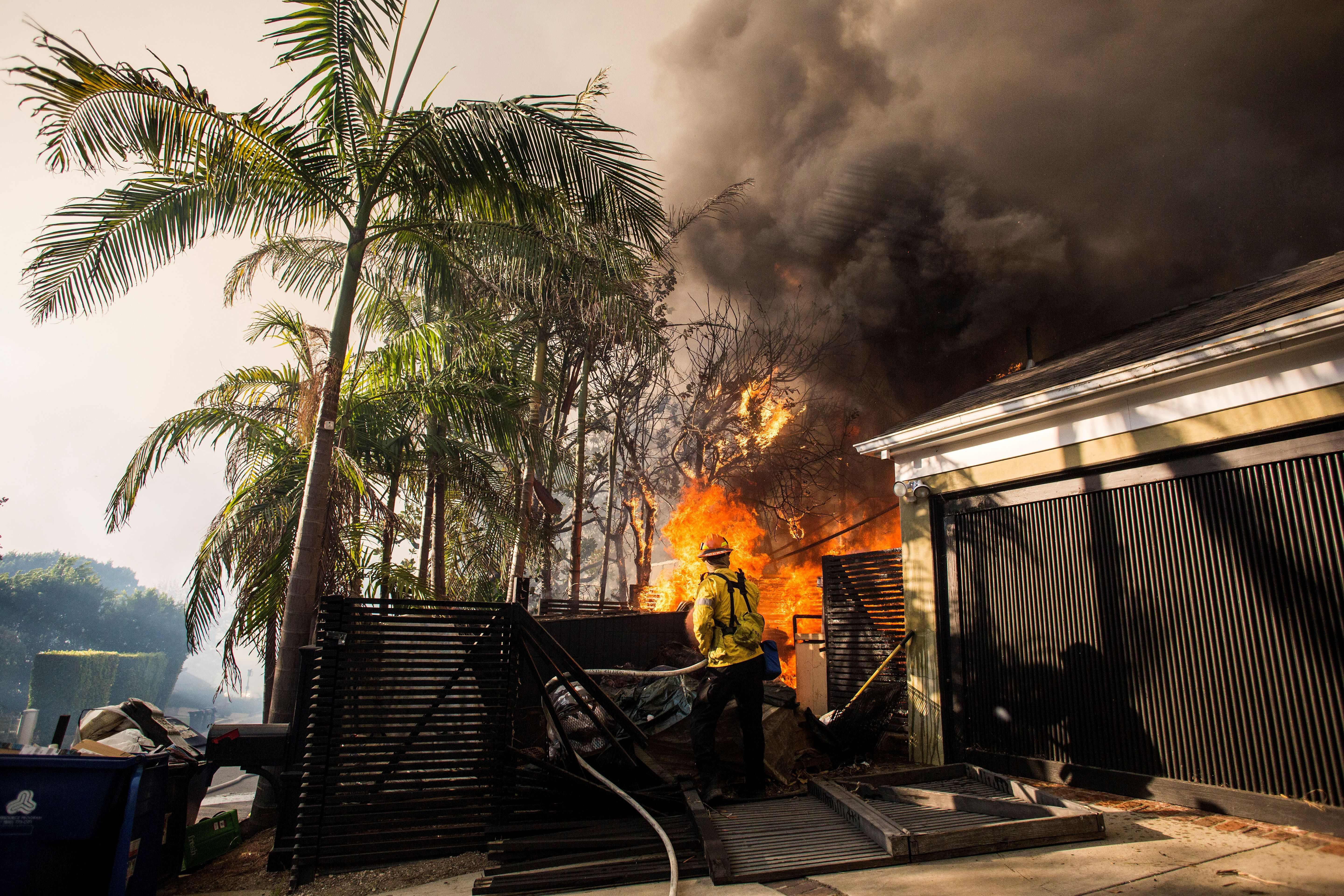 Illegal Cooking Fire Caused Devastating Skirball Fire In Southern