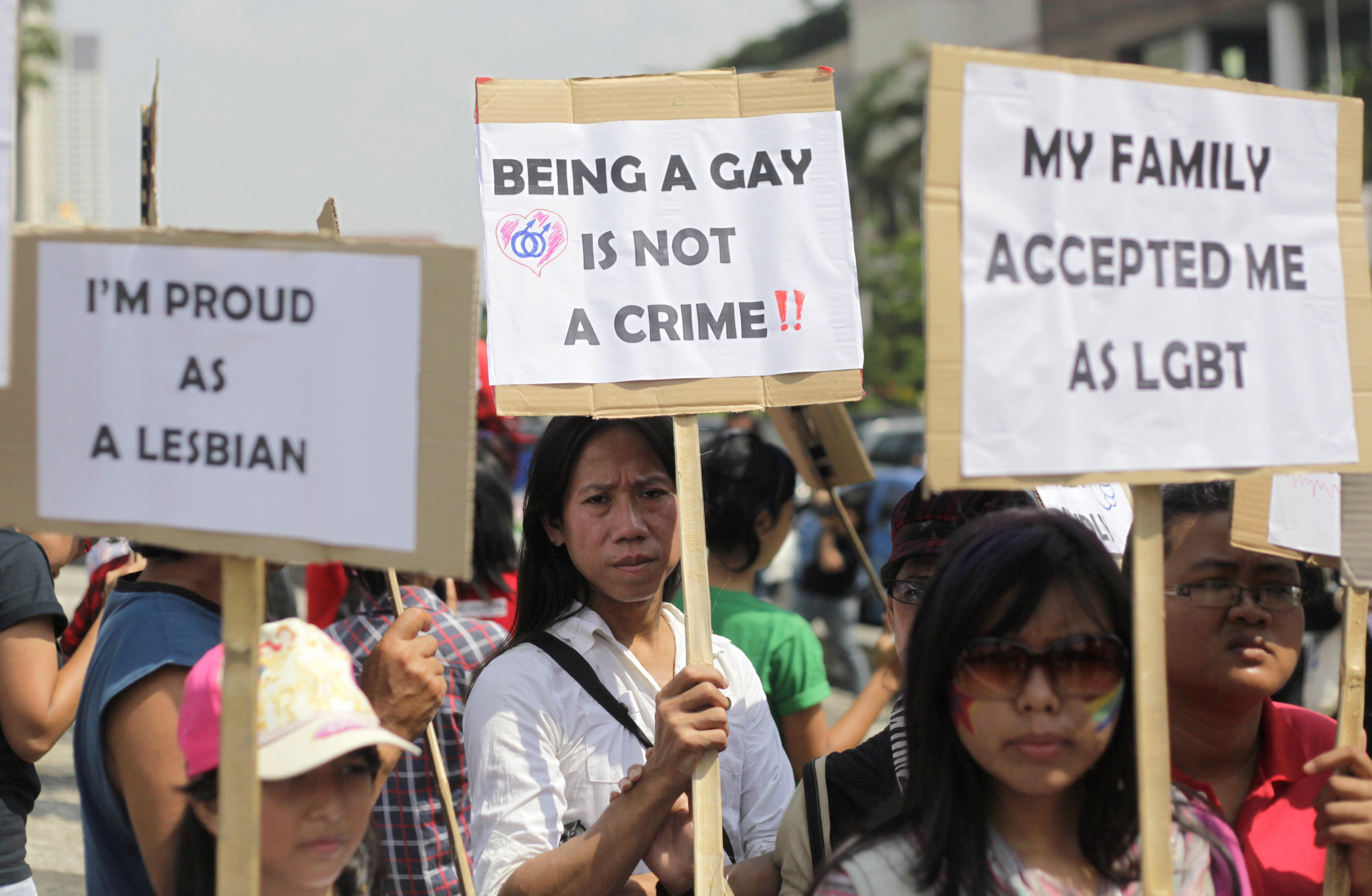 Indonesia court rejects bid to make gay sex illegal