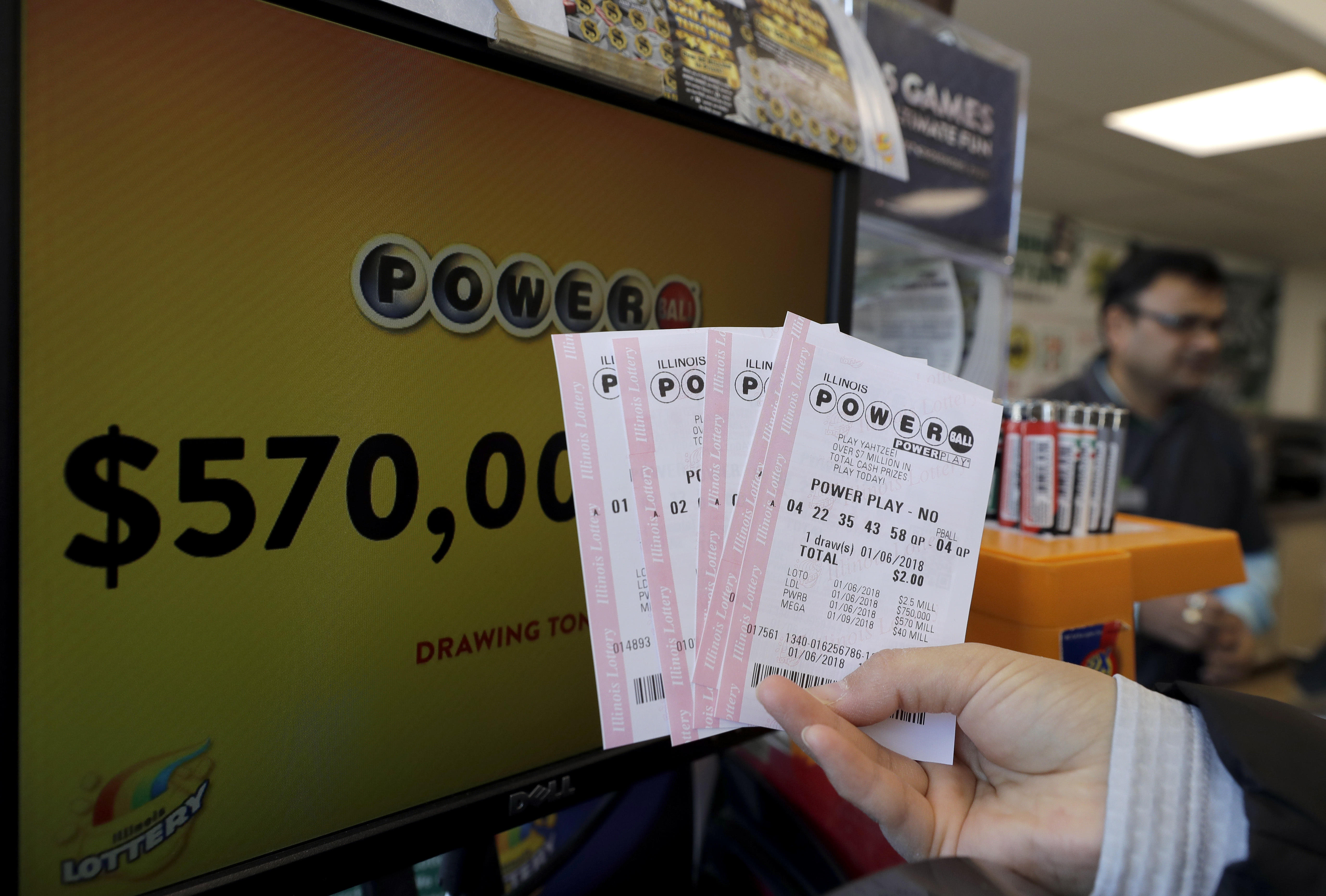 Powerball Winning Numbers In 570 Million Jackpot Sold In New