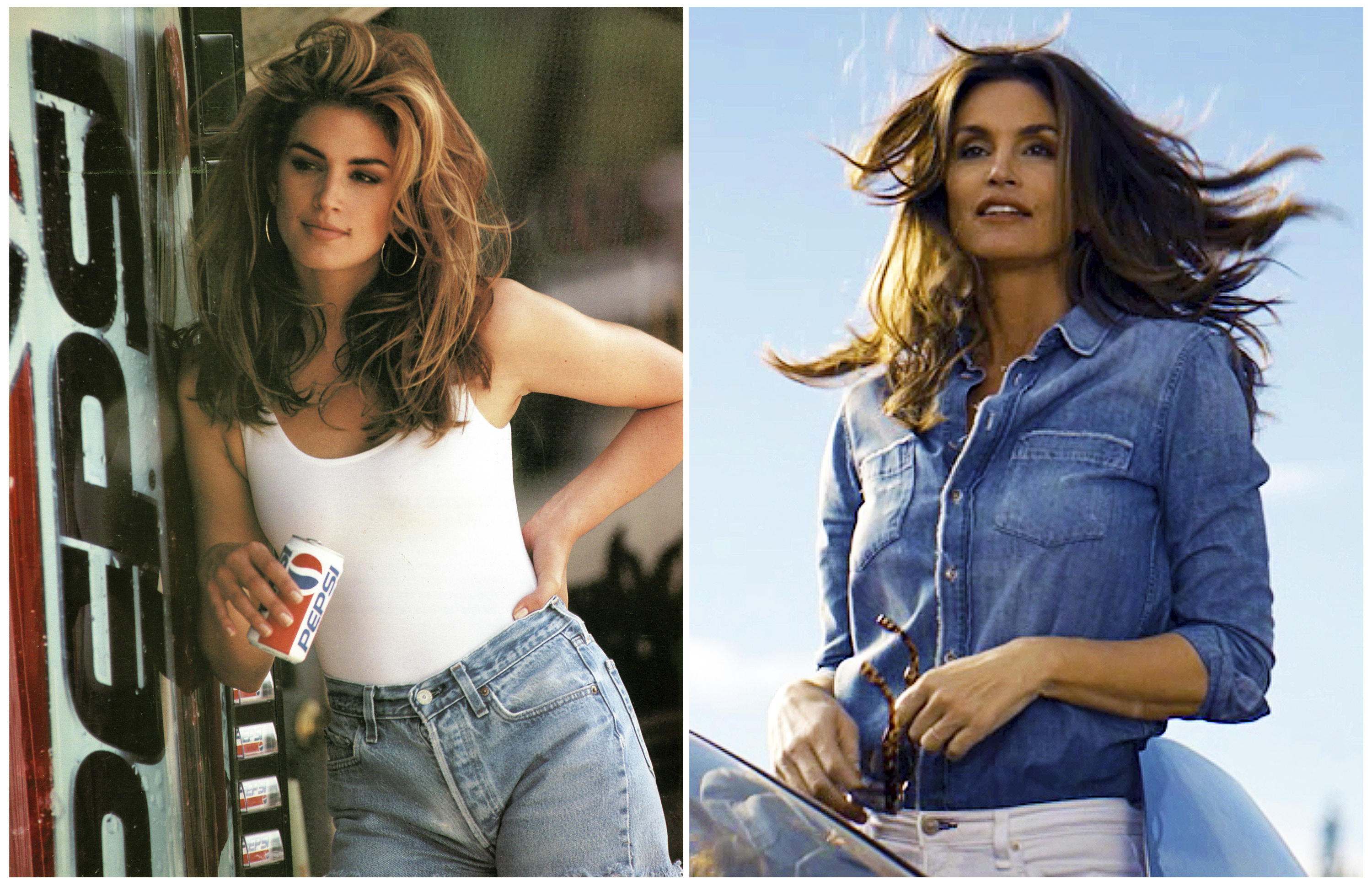 Image result for cindy crawford college