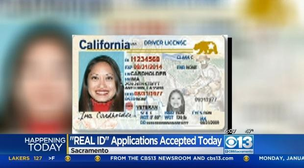 California DMV begins offering Real ID driver's license