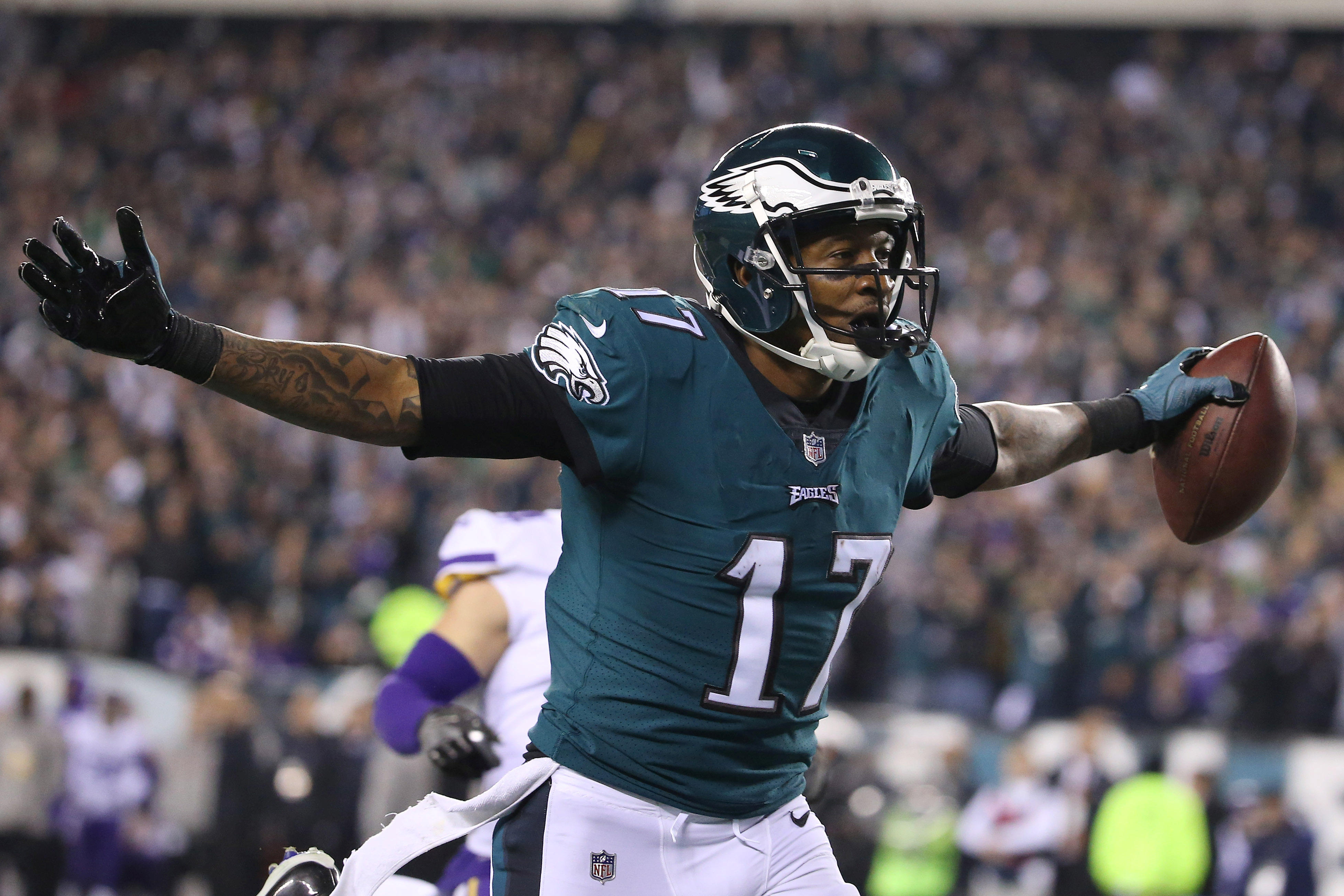 eeddc3309a1 NFC championship: Eagles soar to Super Bowl 52 with win over Vikings, 38-7