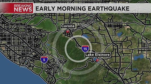 Earthquake shakes Southern California - CBS News