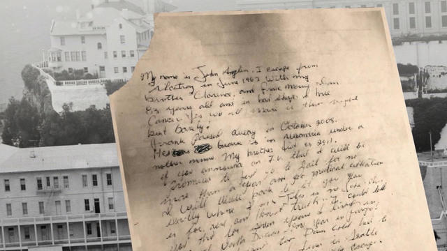 Alcatraz Letter Nephew Of Inmate Weighs In On Mystery Cbs News