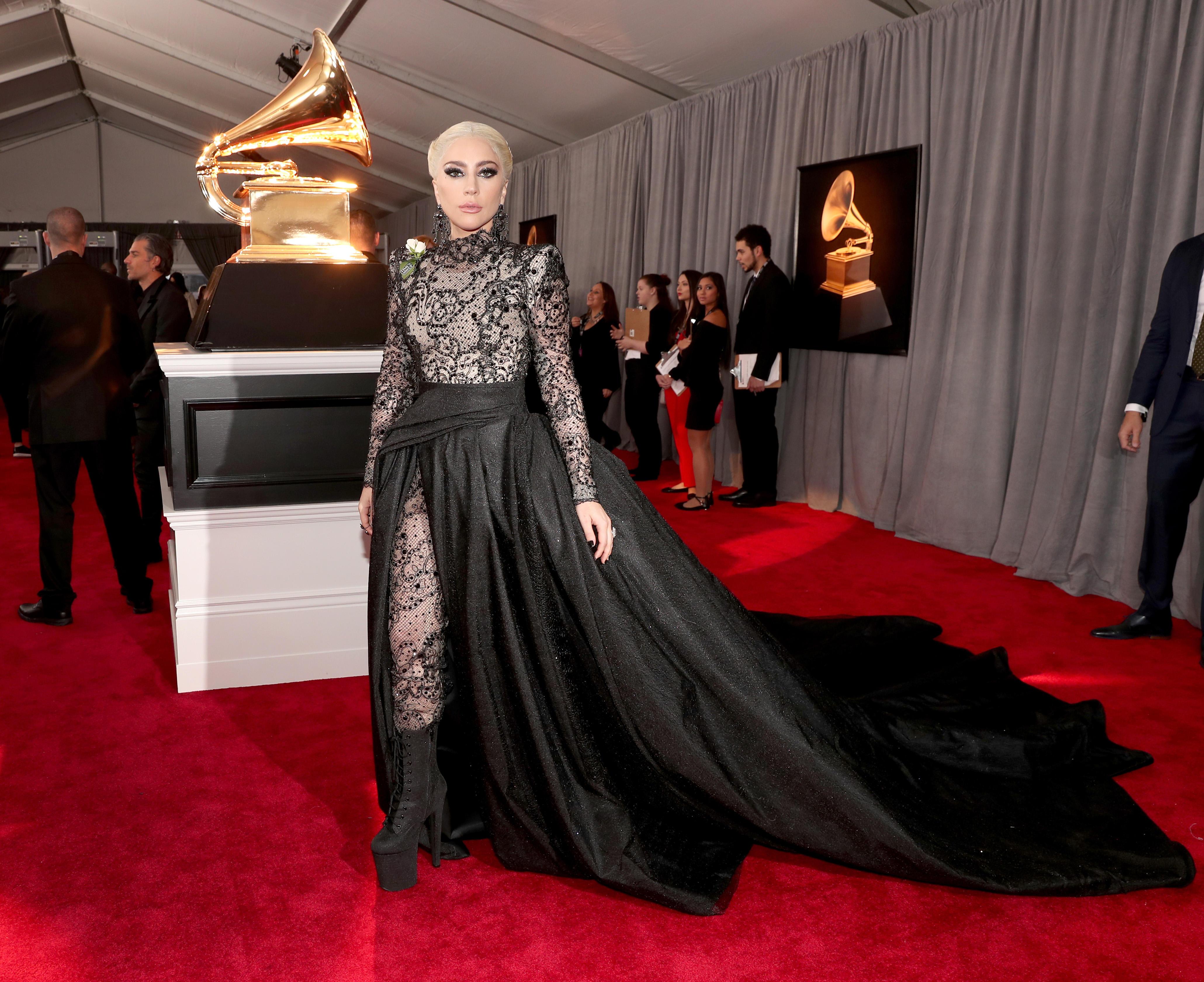 2018 Grammys: Grammys 2018 Red Carpet: Lady Gaga Among Stars Wearing