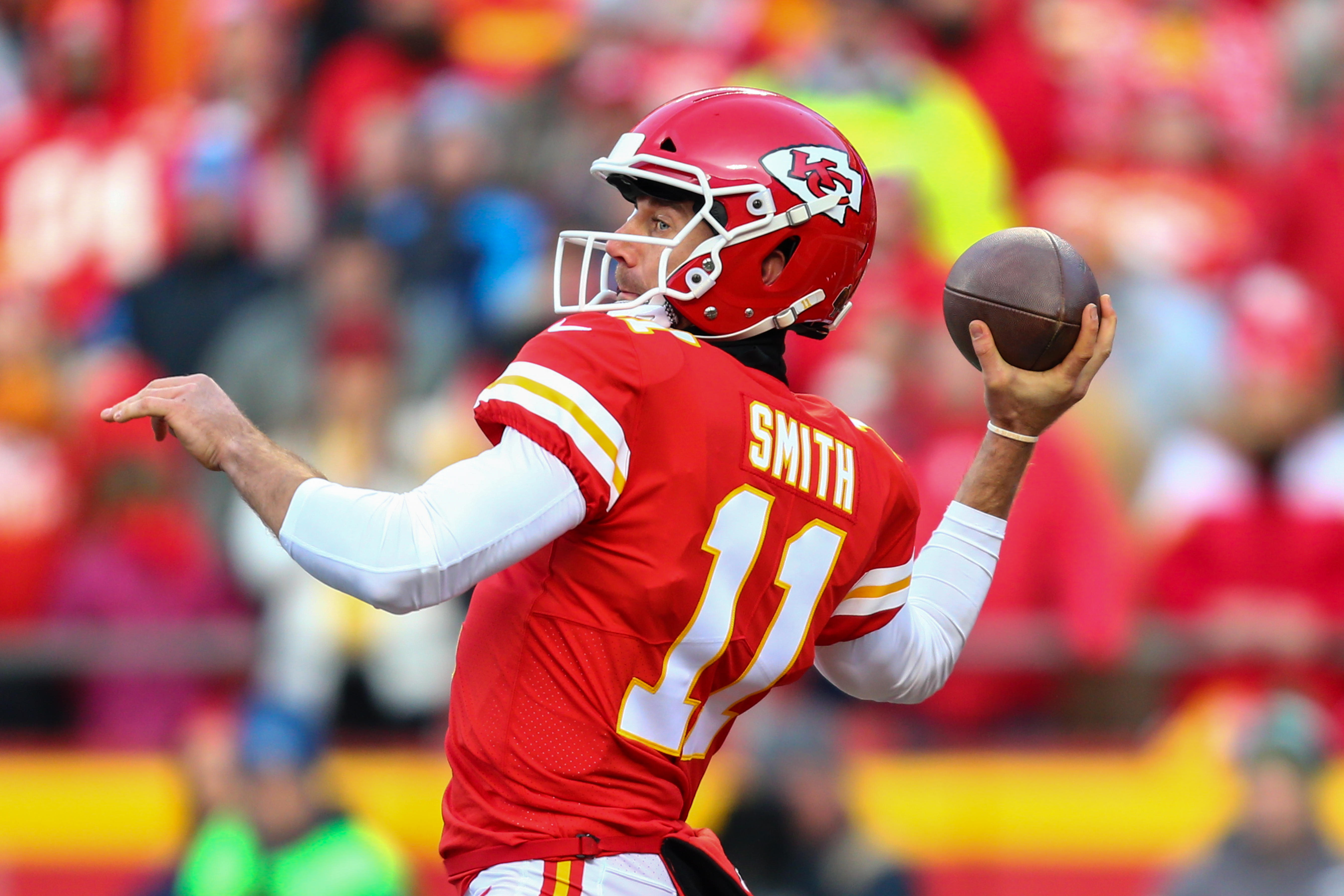 best website 288e3 a15f3 Alex Smith traded by Chiefs to Redskins, sources say - CBS News