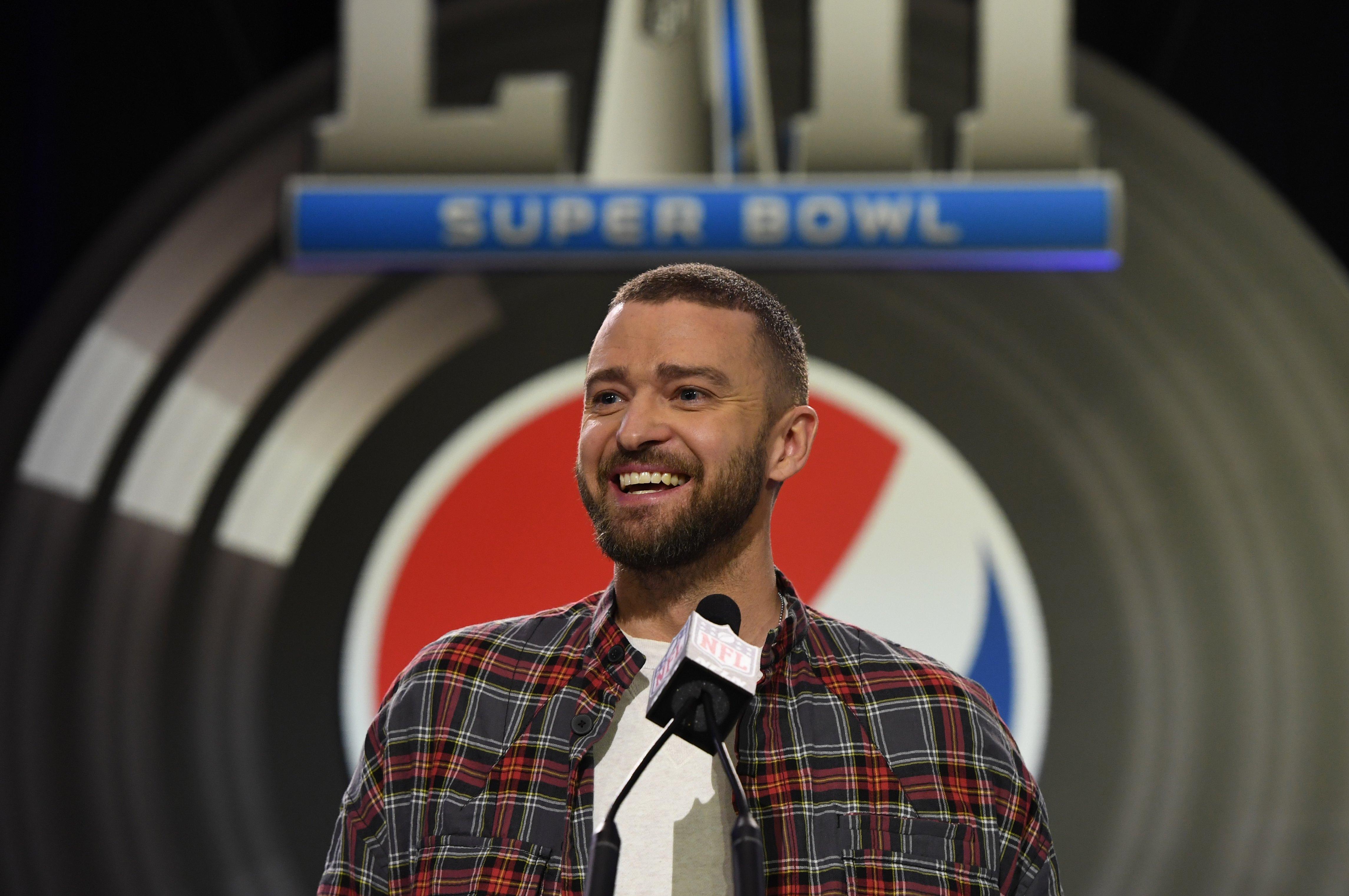 bb6b34df3b7 Super Bowl LII: Justin Timberlake on halftime show plans,