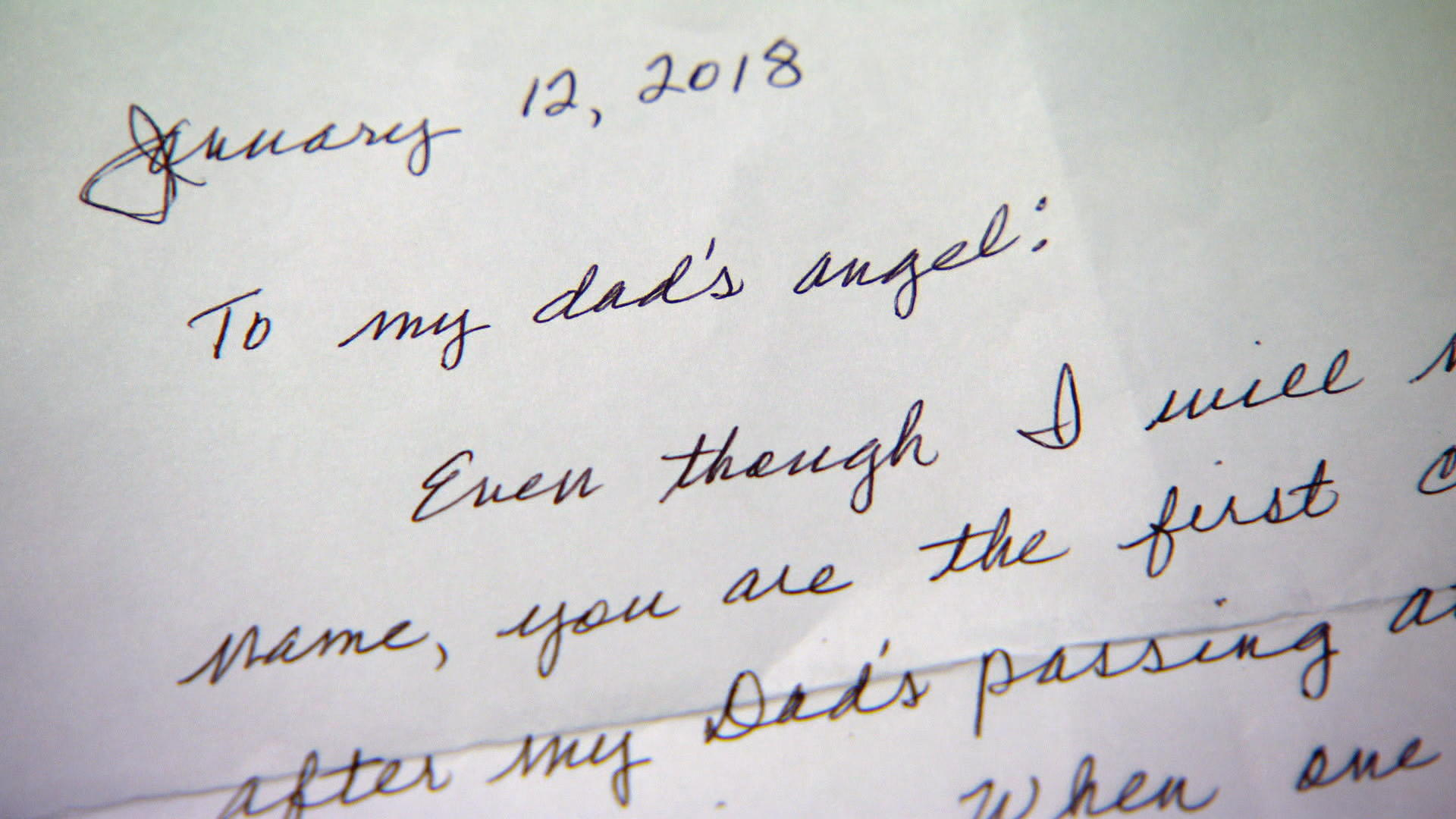 Joy, grief and a handwritten letter bring two Louisiana