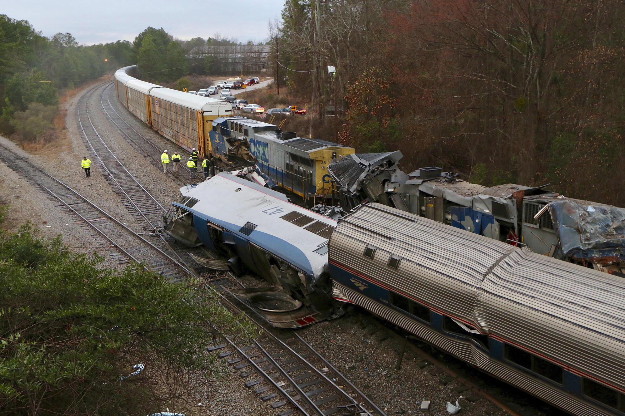 amtrak train crash today in south carolina leaves 2 dead 116