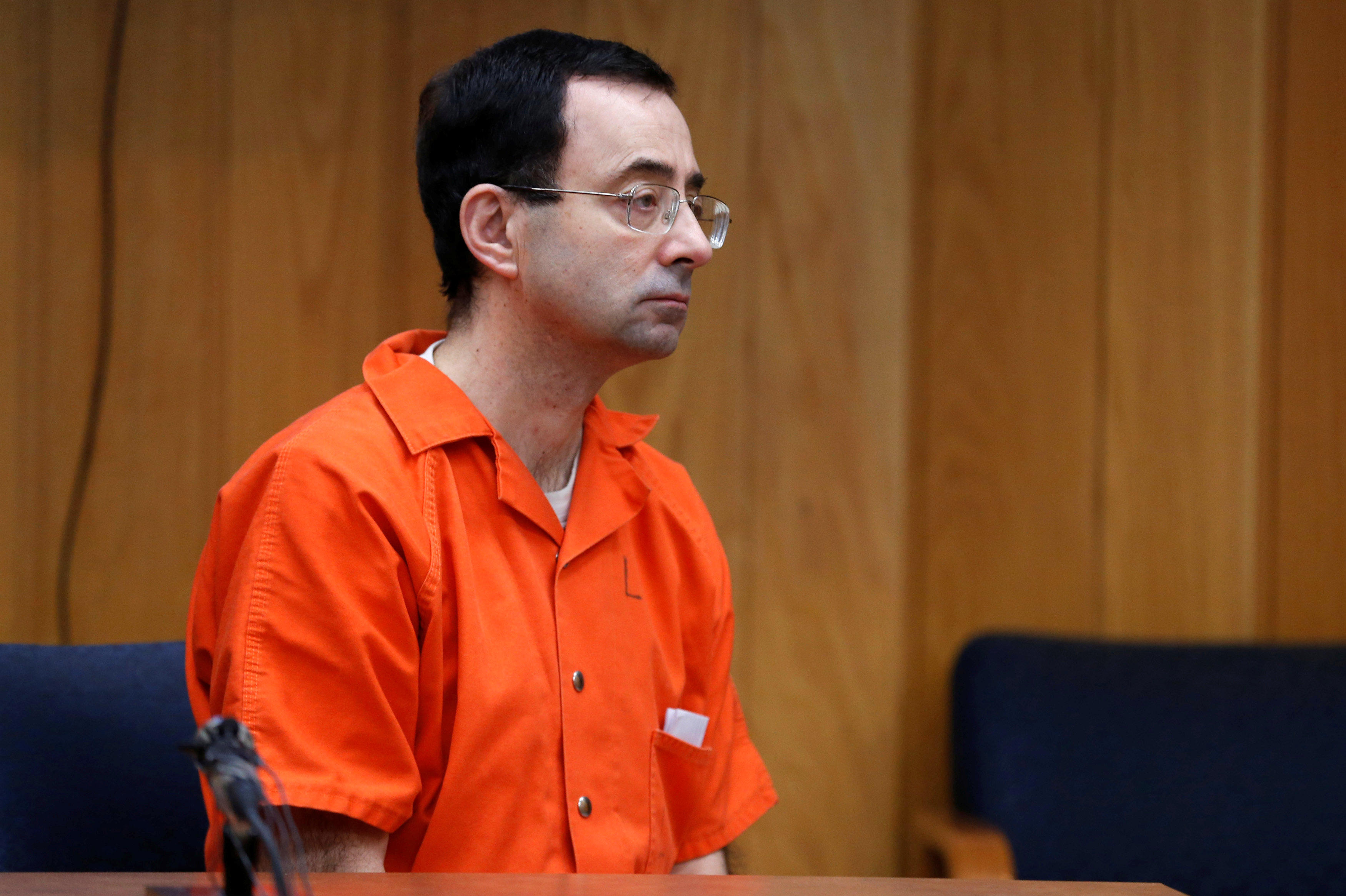 Larry Nassar sentenced to at least 40 more years in Michigan