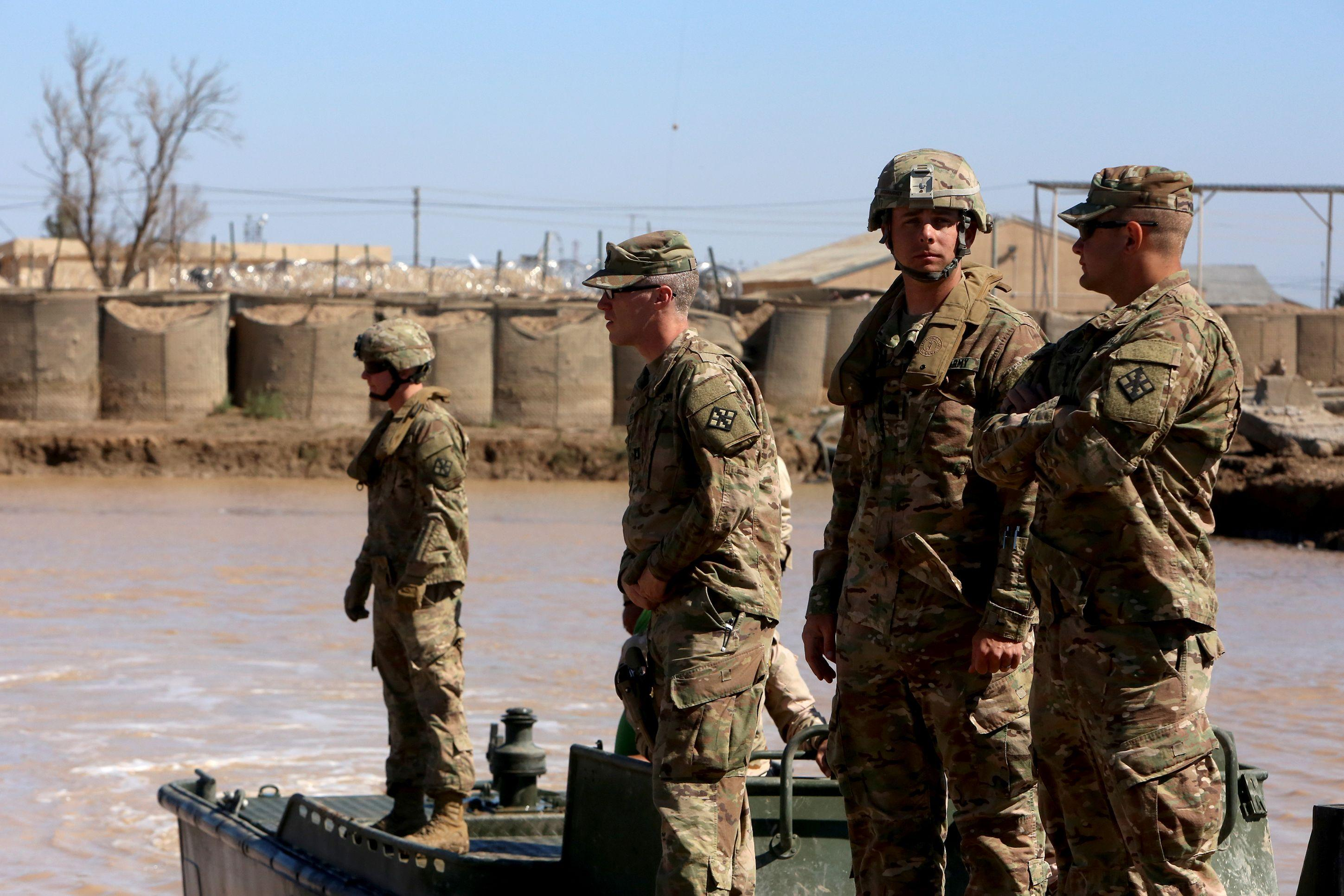 Iraq US troops drawdown reported by AP after military