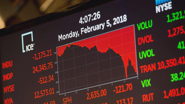 Us Stocks Slip At The End Of A Bumpy Session Cbs News