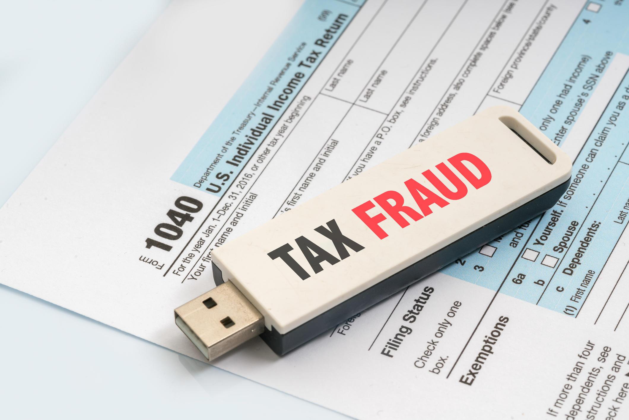 My tax preparer stole my refund